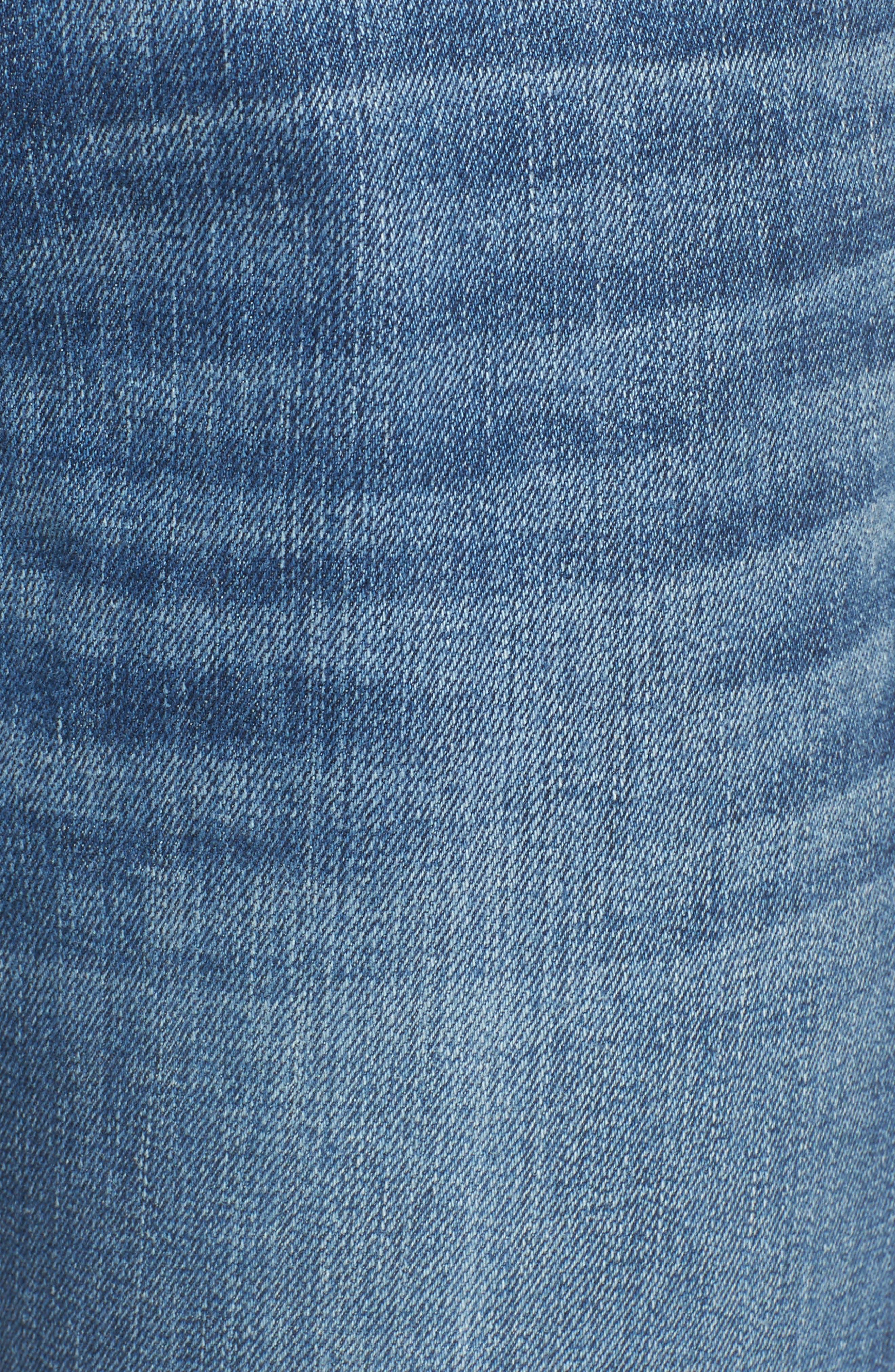 The Dre Slim Boyfriend Jeans,                             Alternate thumbnail 6, color,                             428