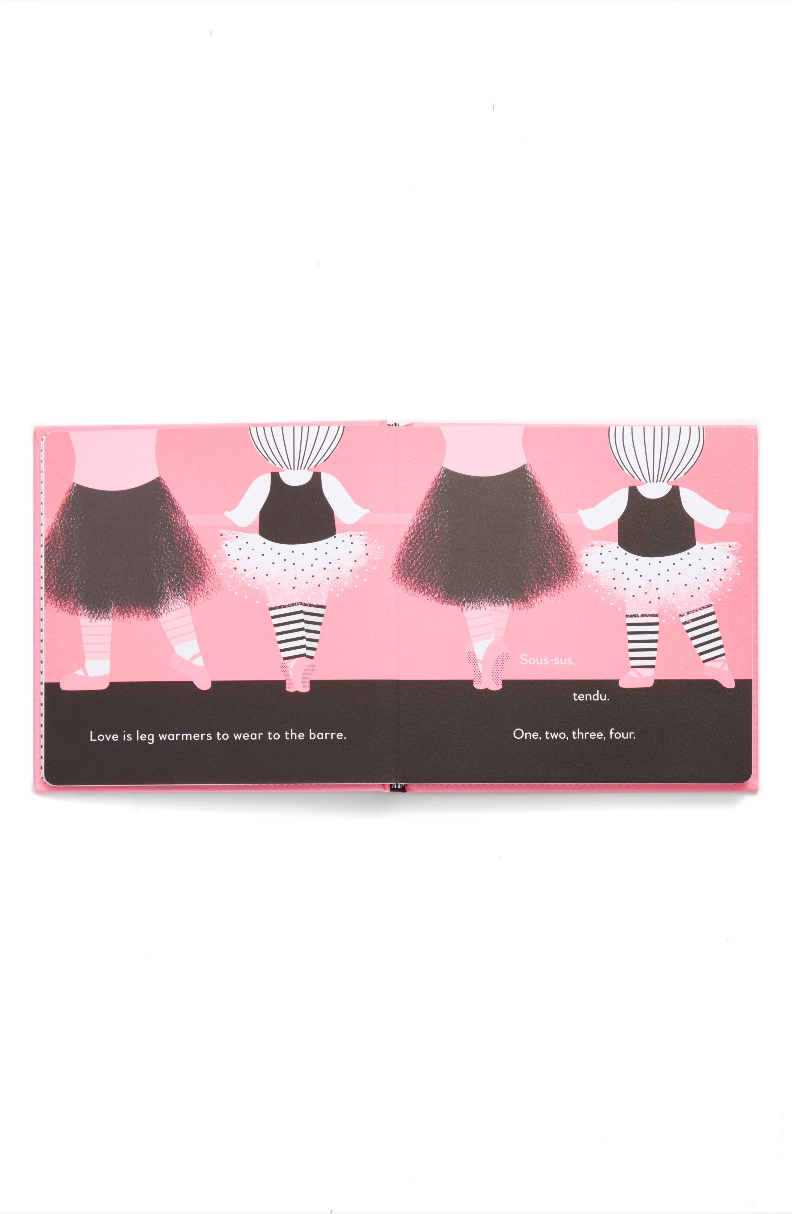 'Love is a Tutu' Board Book,                             Alternate thumbnail 2, color,                             650