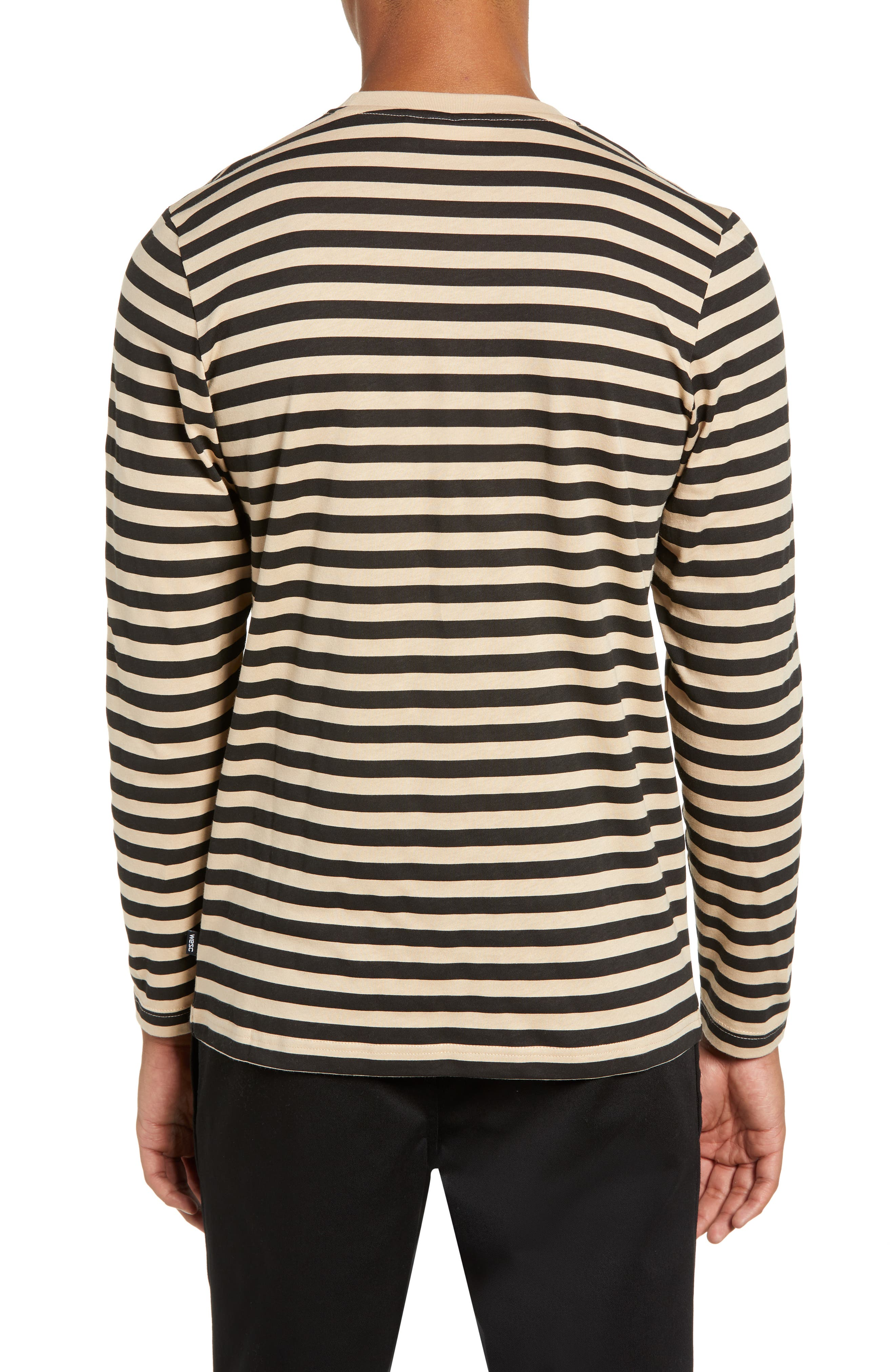 Makai Stripe Long Sleeve Pocket T-Shirt,                             Alternate thumbnail 2, color,                             271