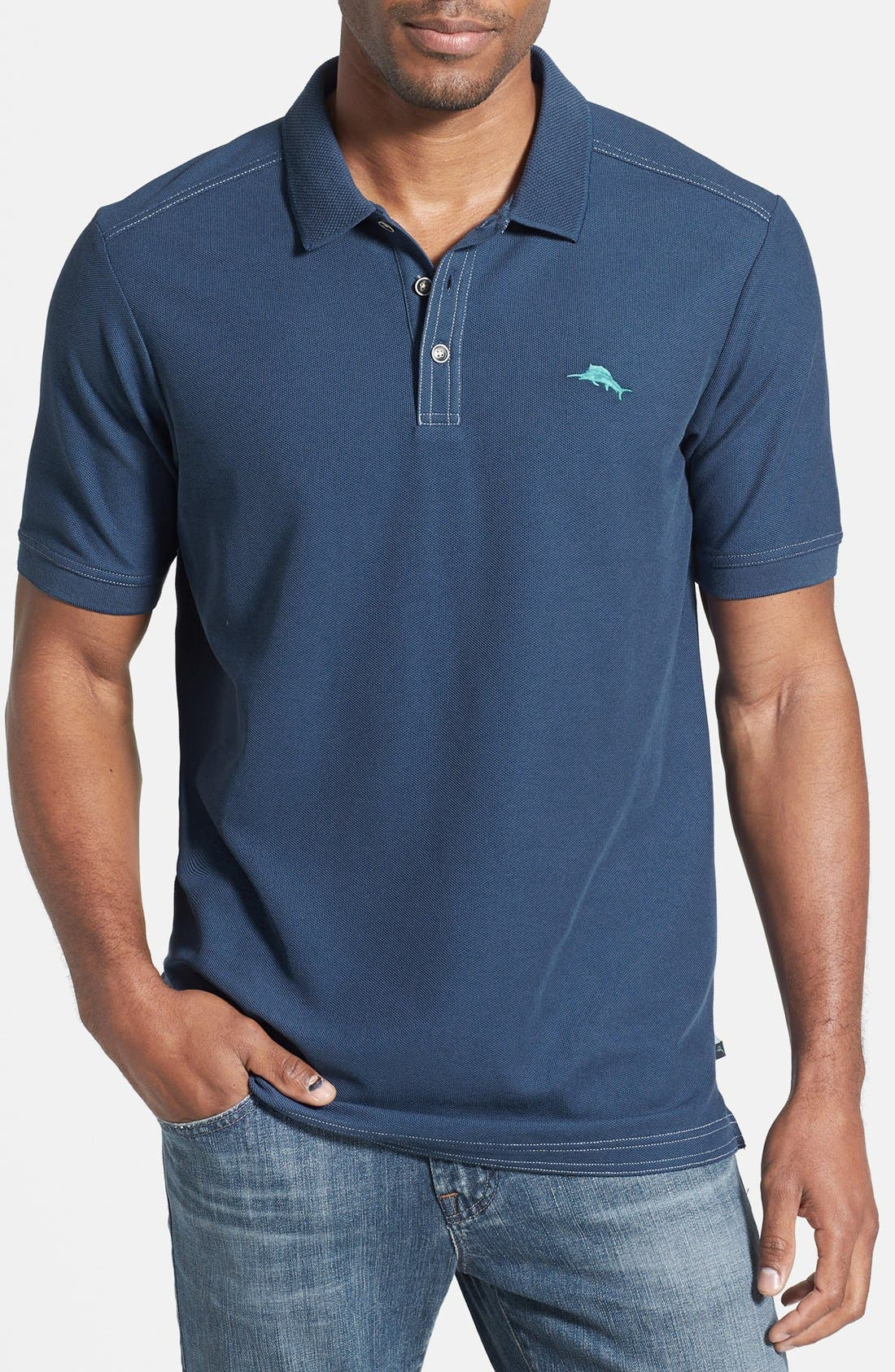 'The Emfielder' Original Fit Piqué Polo,                             Main thumbnail 75, color,