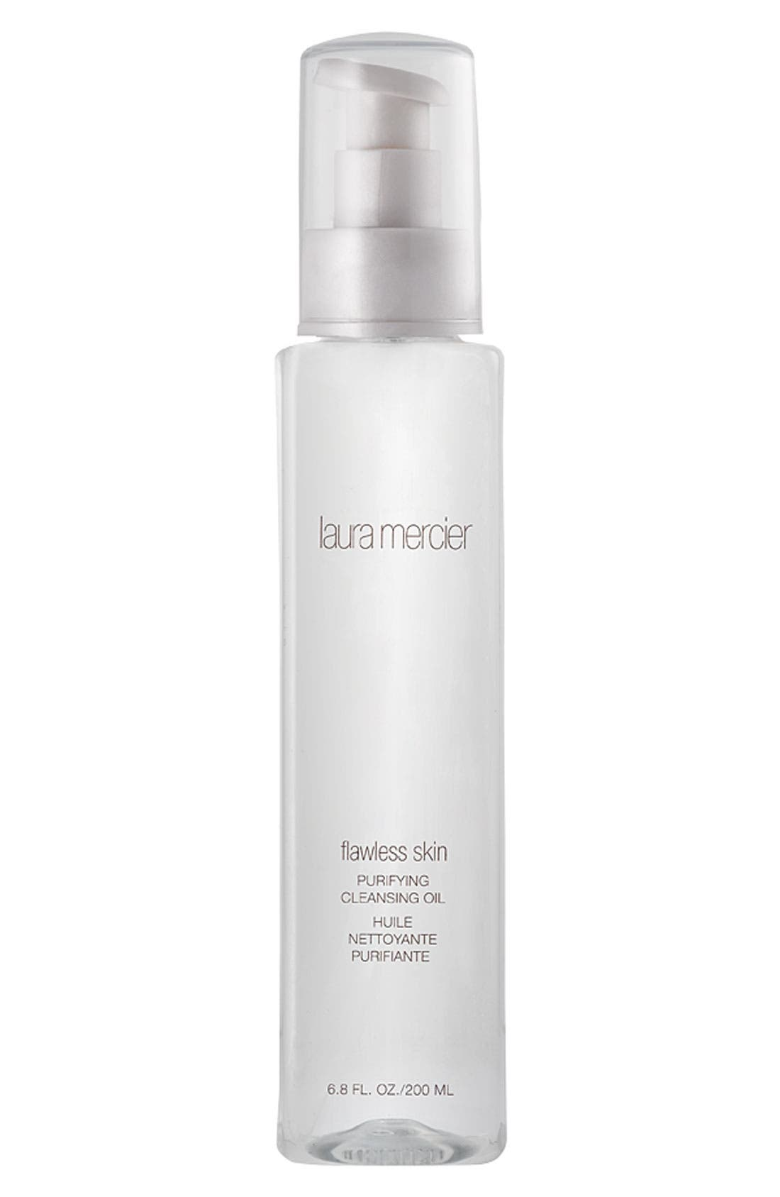 LAURA MERCIER,                             'Flawless Skin' Purifying Cleansing Oil,                             Main thumbnail 1, color,                             000