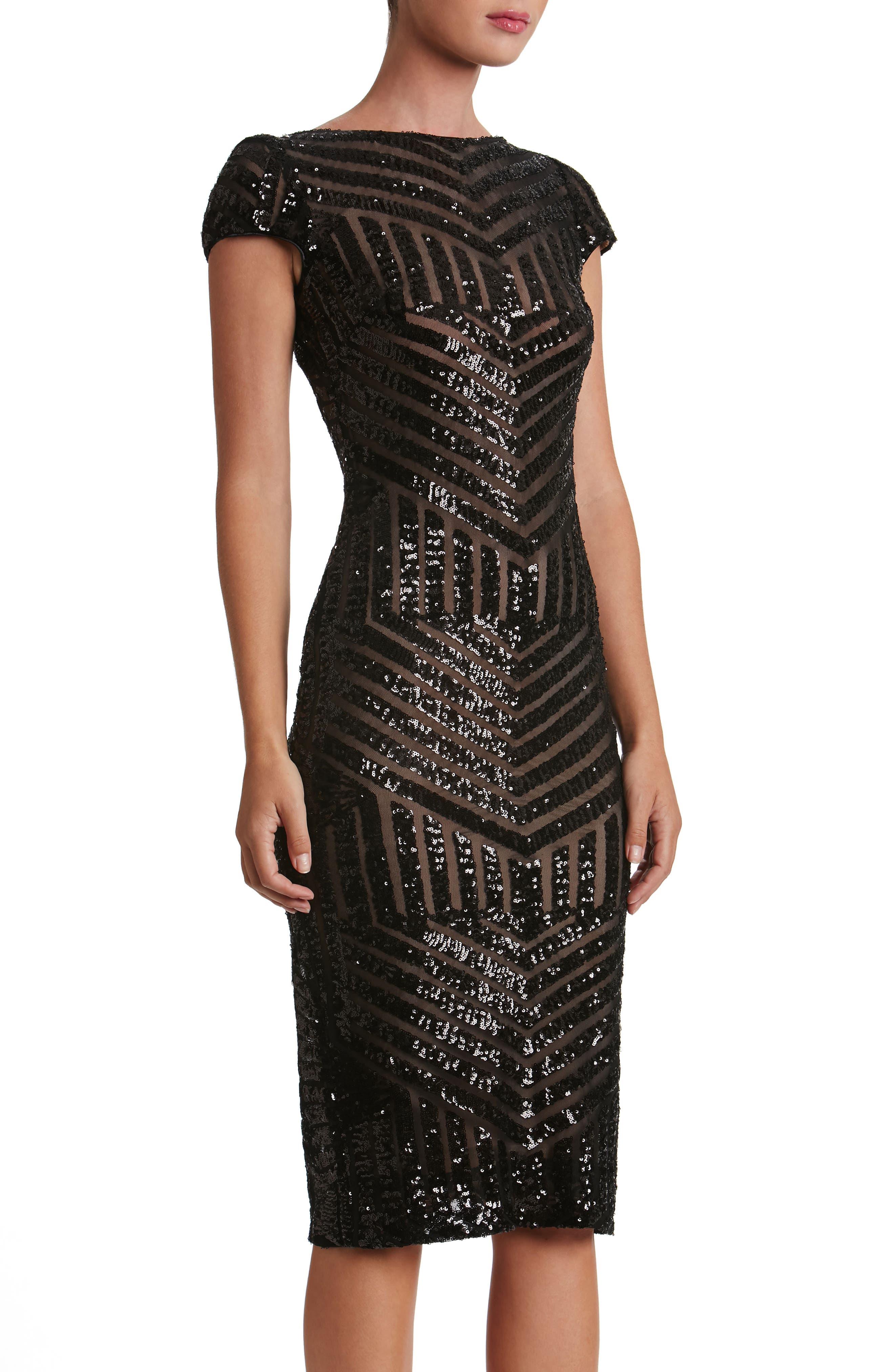 Katerina Body-Con Dress,                             Main thumbnail 1, color,                             019