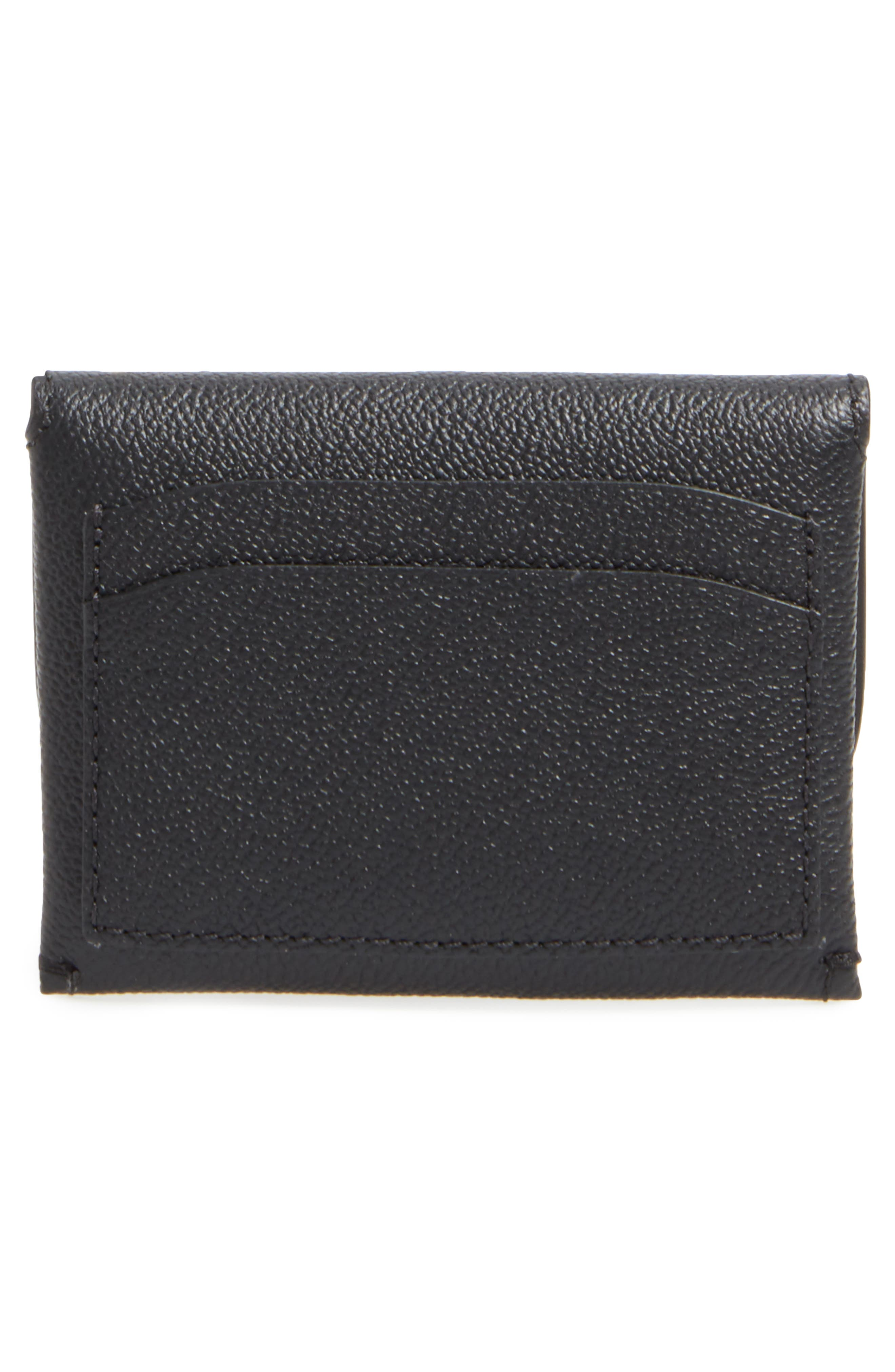 Mayfield Leather Card Case,                             Alternate thumbnail 3, color,                             001