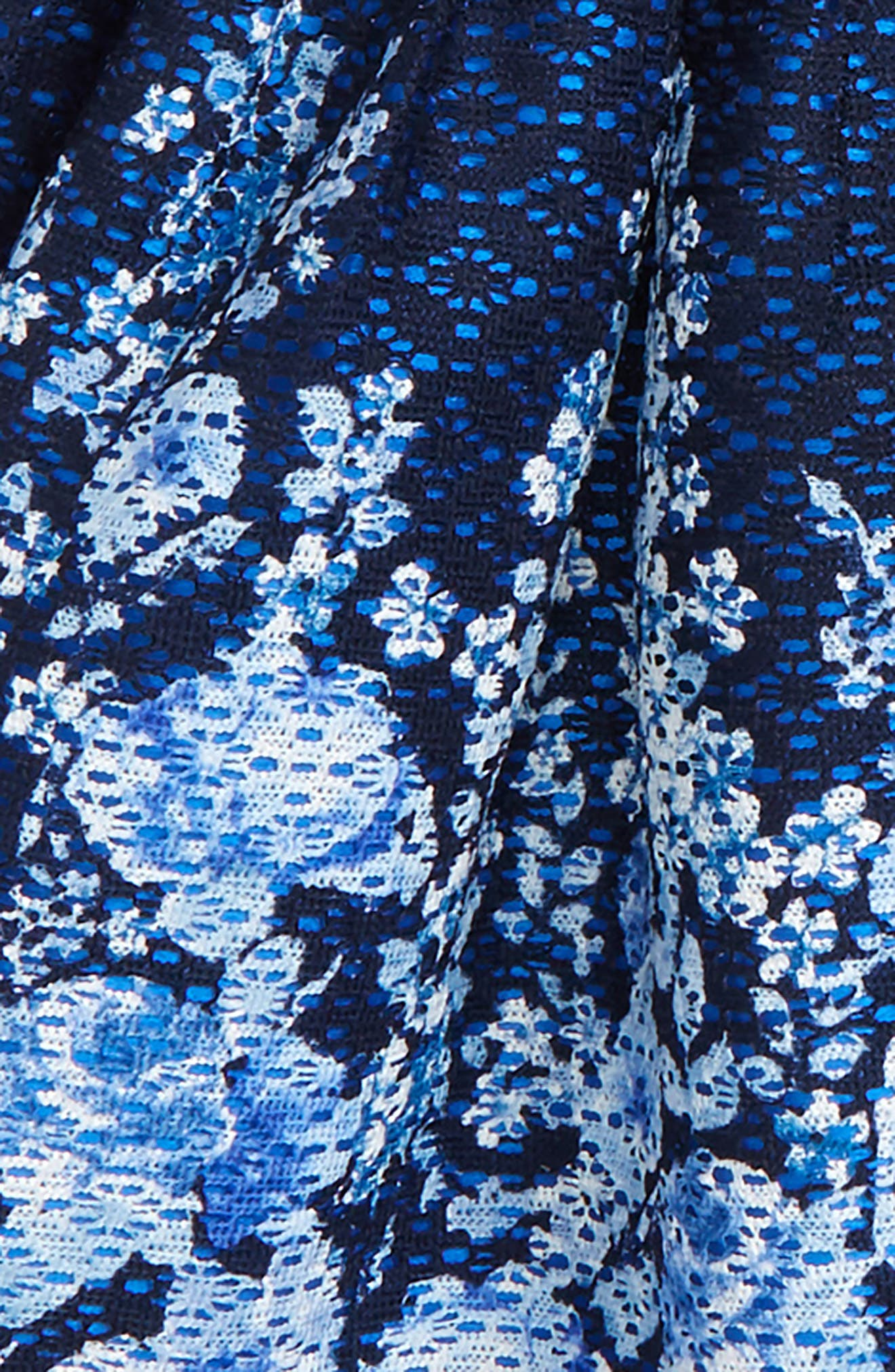 Floral Lace Dress,                             Alternate thumbnail 2, color,                             410