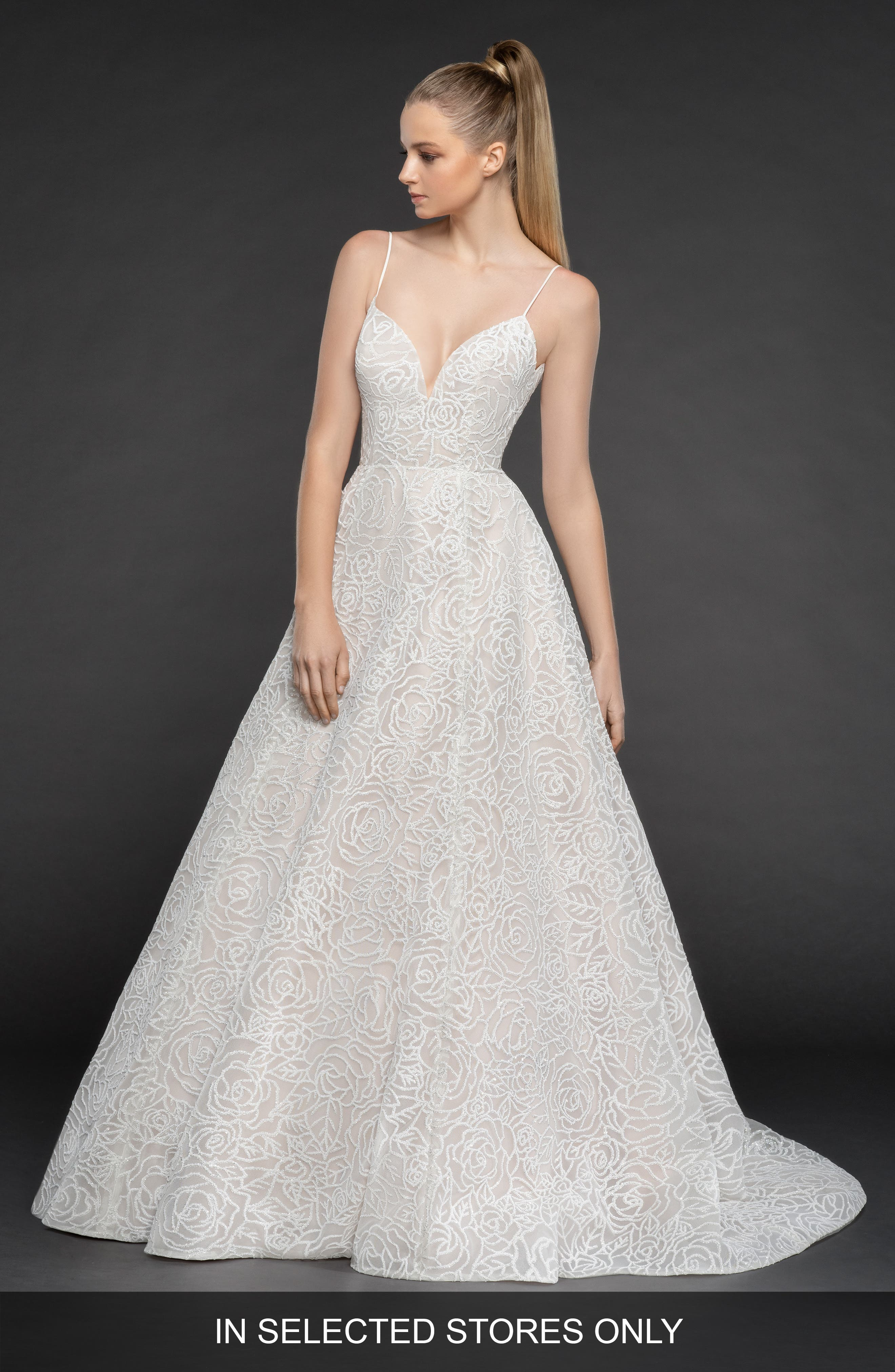 Blush By Hayley Paige Jardin Ballgown, Size IN STORE ONLY - Beige