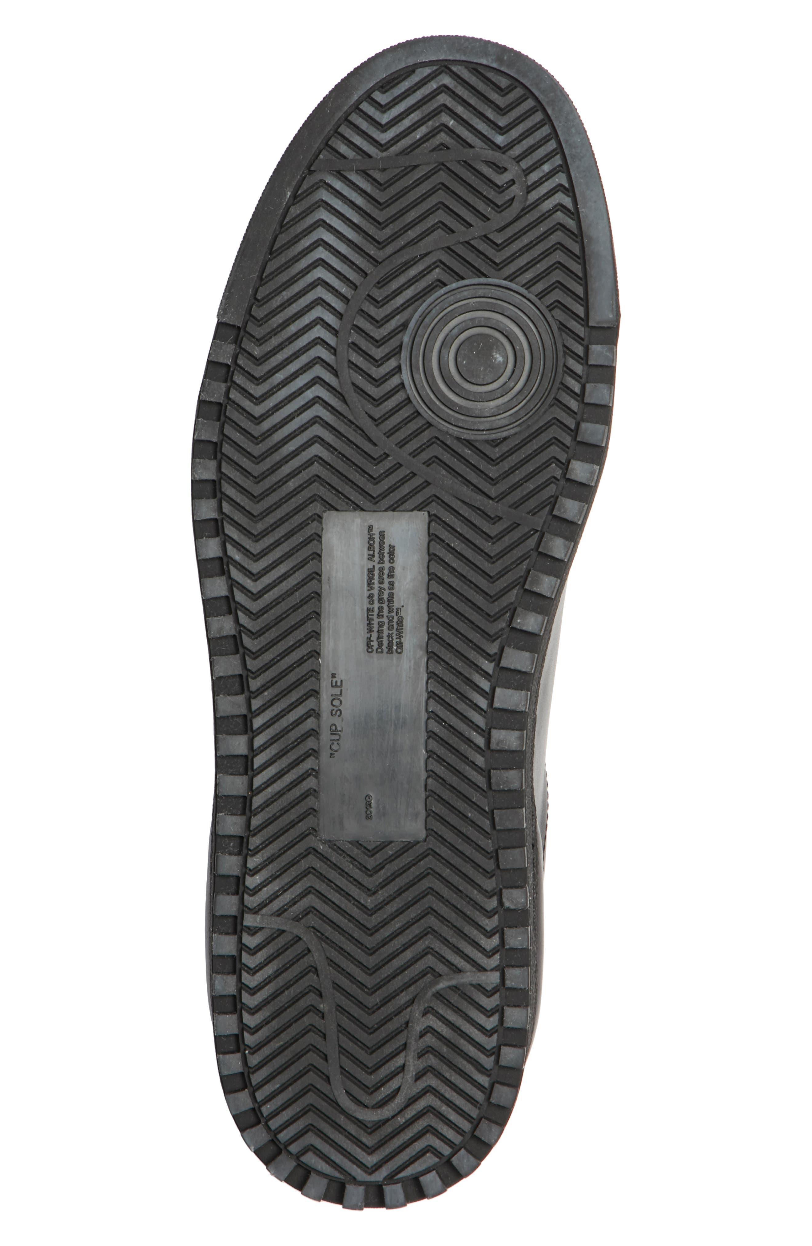 Arrow Sneaker,                             Alternate thumbnail 6, color,                             BLACK WHITE