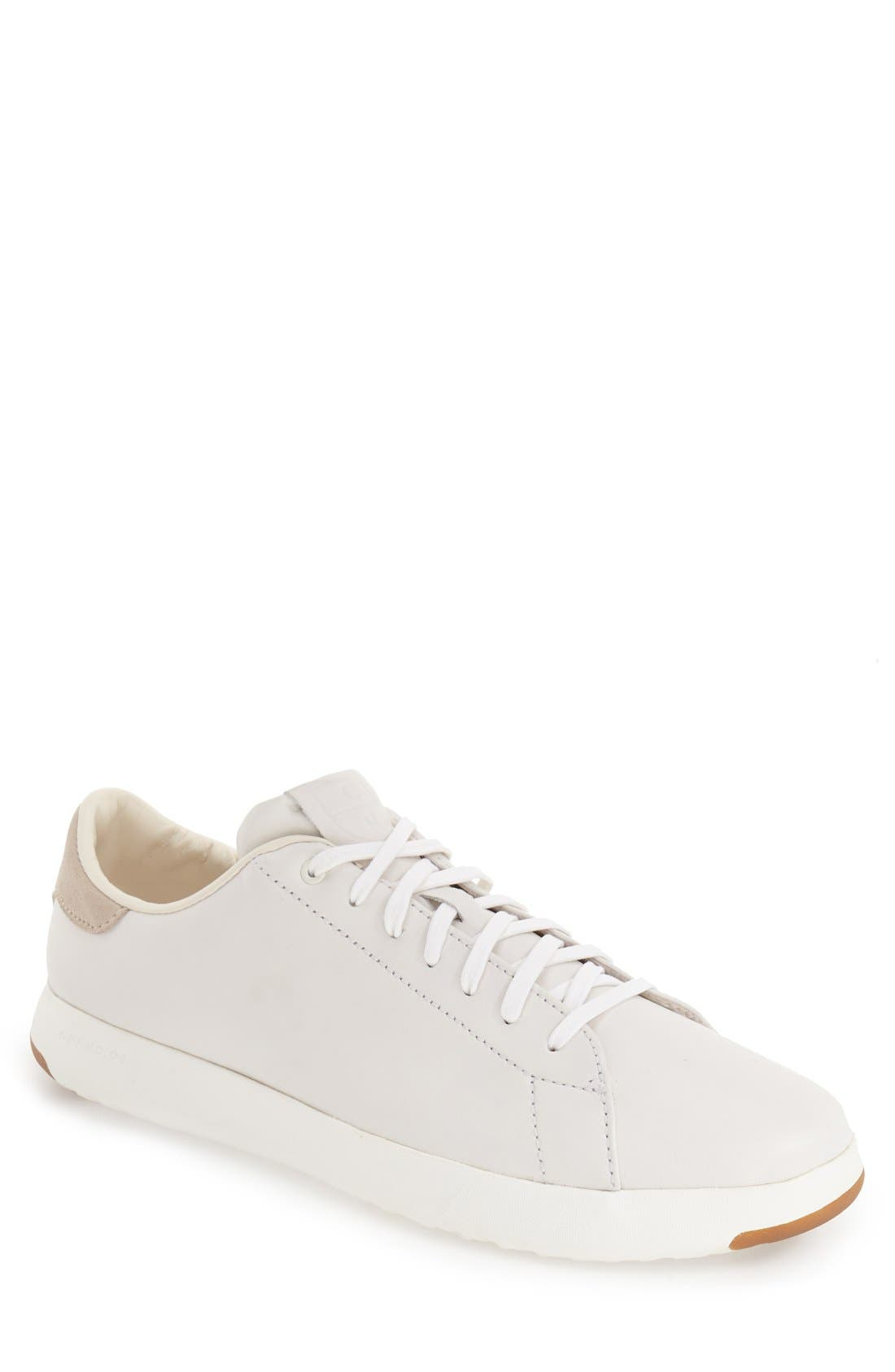 GrandPro Tennis Sneaker,                         Main,                         color, WHITE