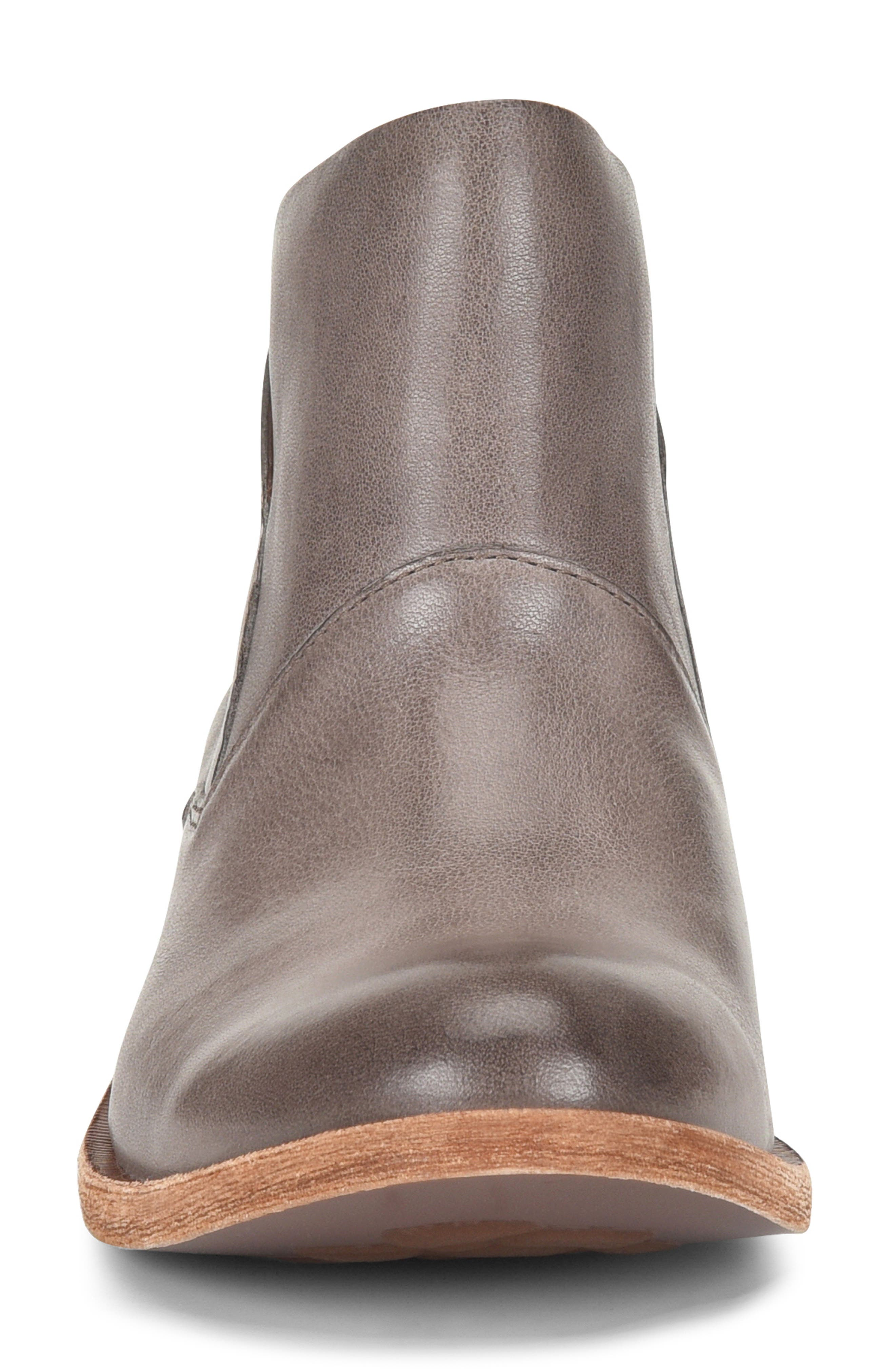 Ryder Ankle Boot,                             Alternate thumbnail 4, color,                             GREY LEATHER