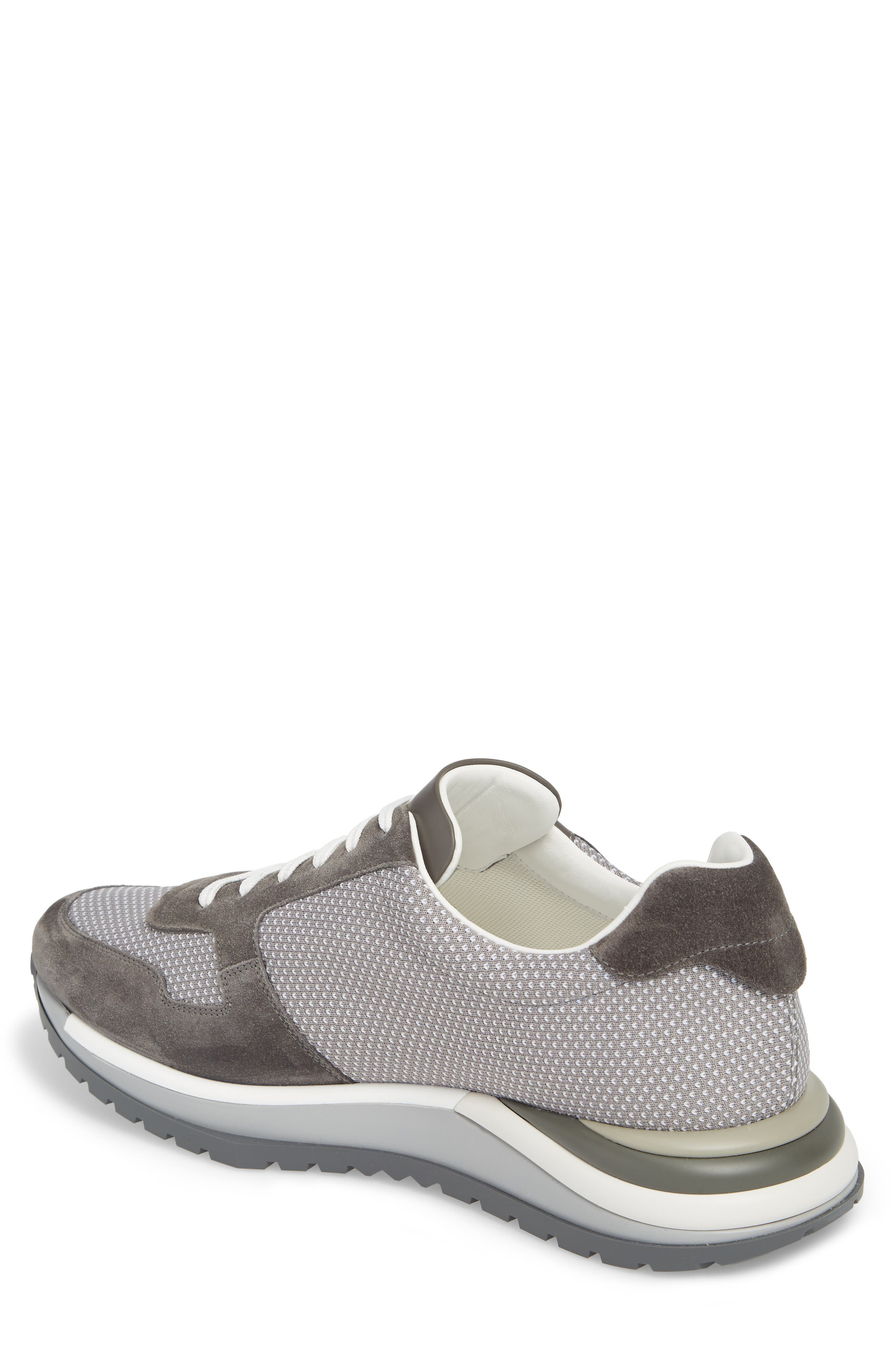 Brooklyn 2 Woven Sneaker,                             Alternate thumbnail 2, color,                             GREY