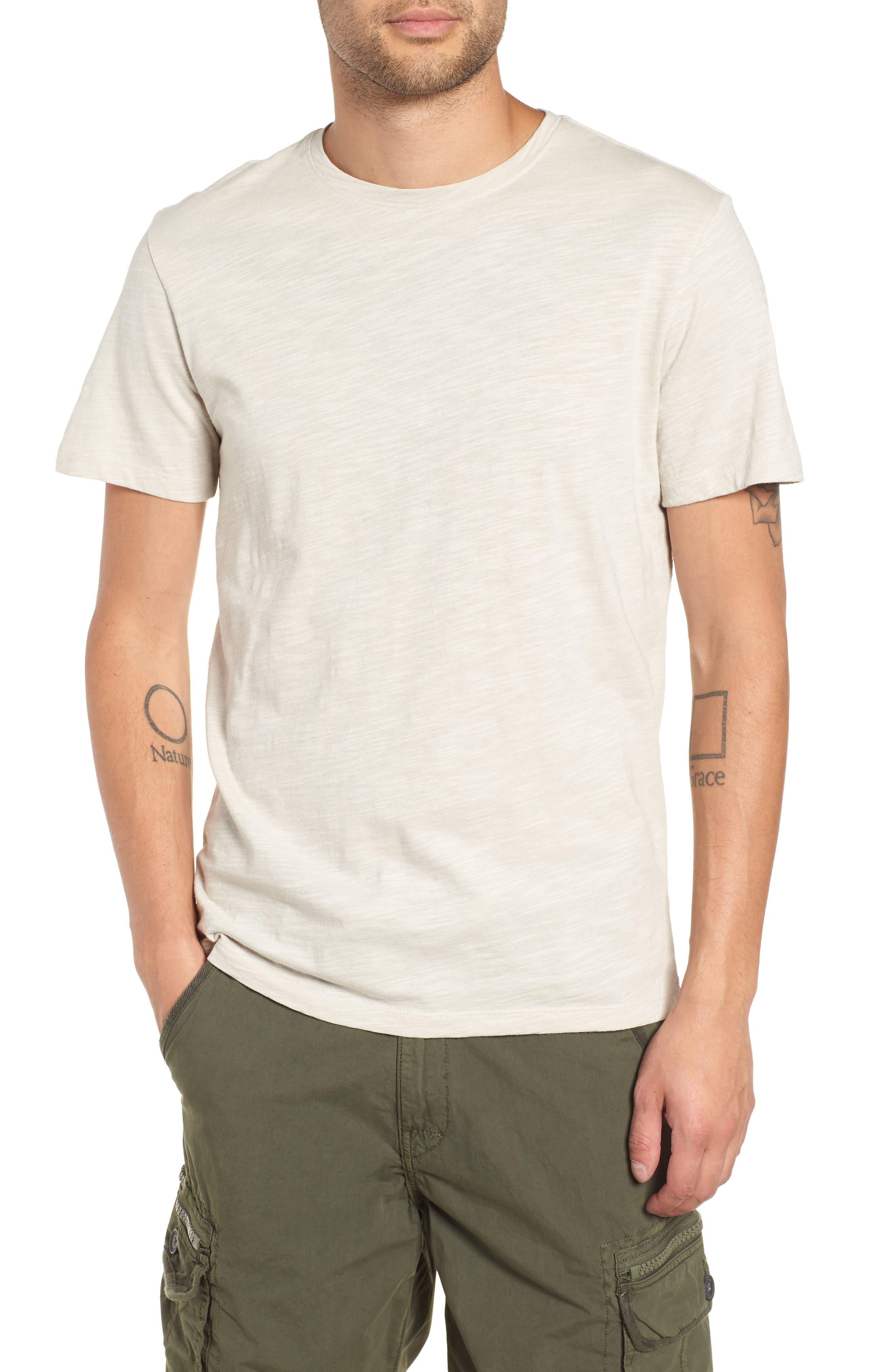 THE RAIL Slub Knit T-Shirt, Main, color, 050