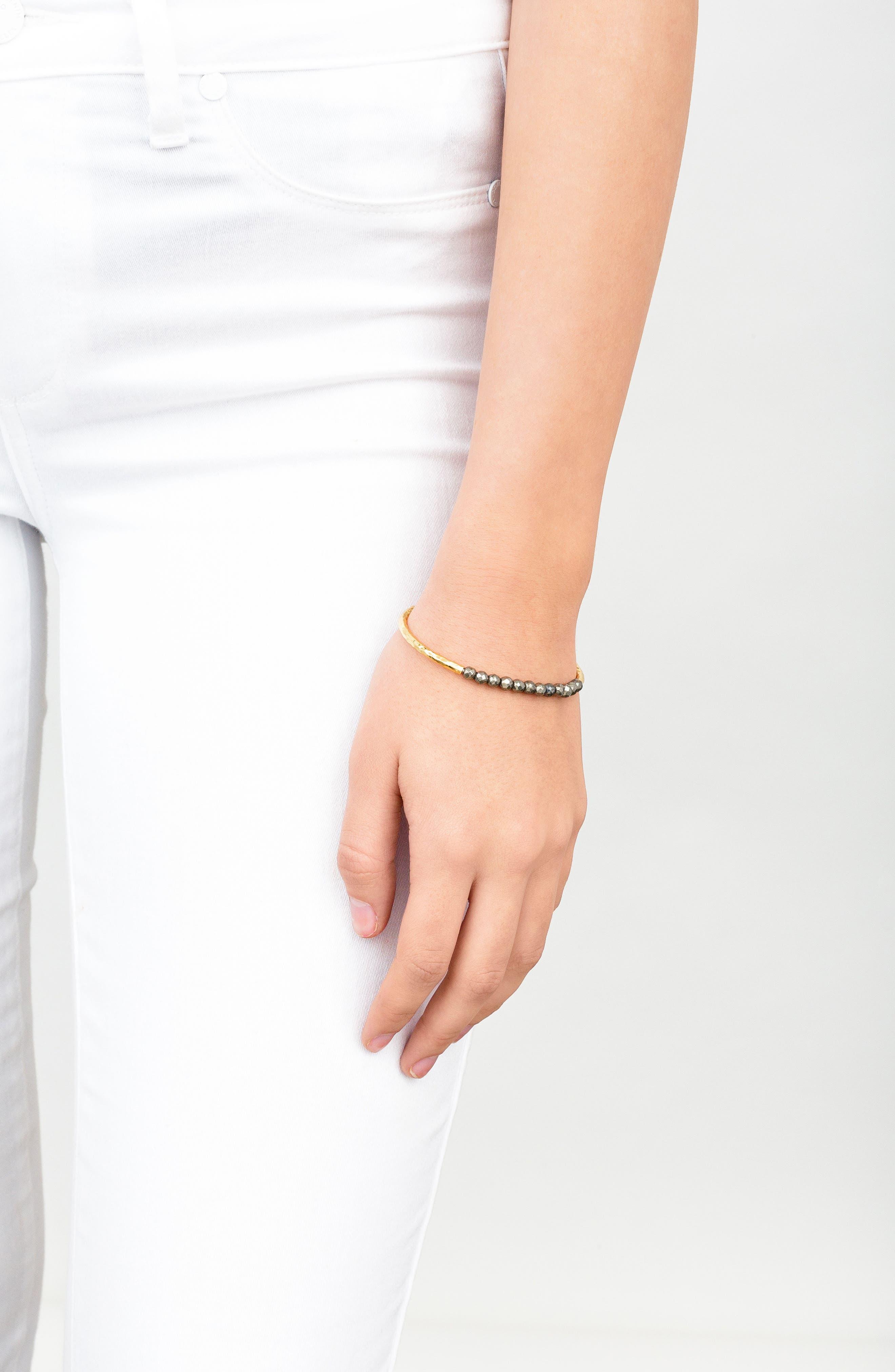 Power Stone Semiprecious Beaded Bracelet,                             Alternate thumbnail 22, color,