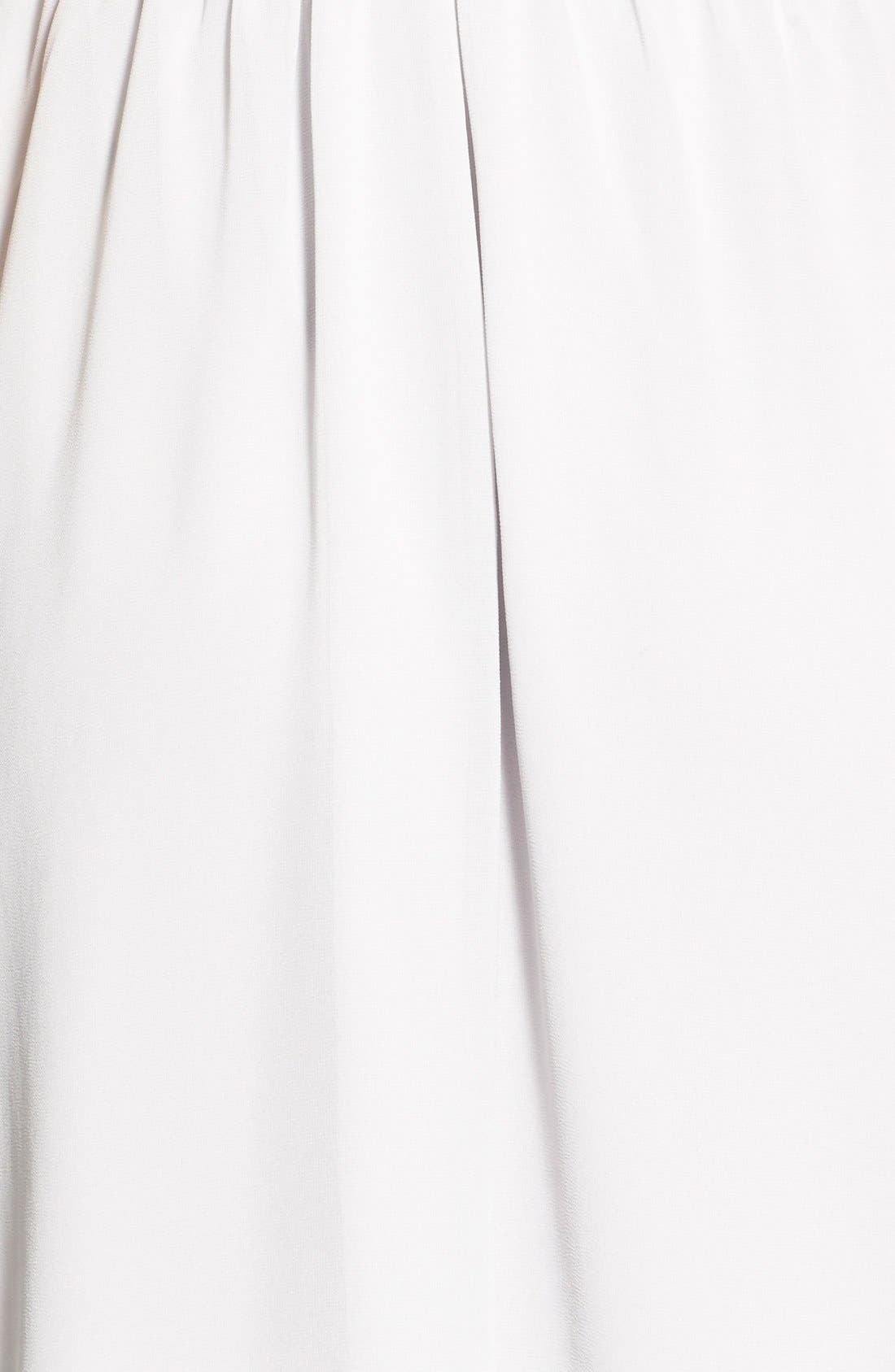 Blouson Chiffon Skater Dress,                             Alternate thumbnail 78, color,