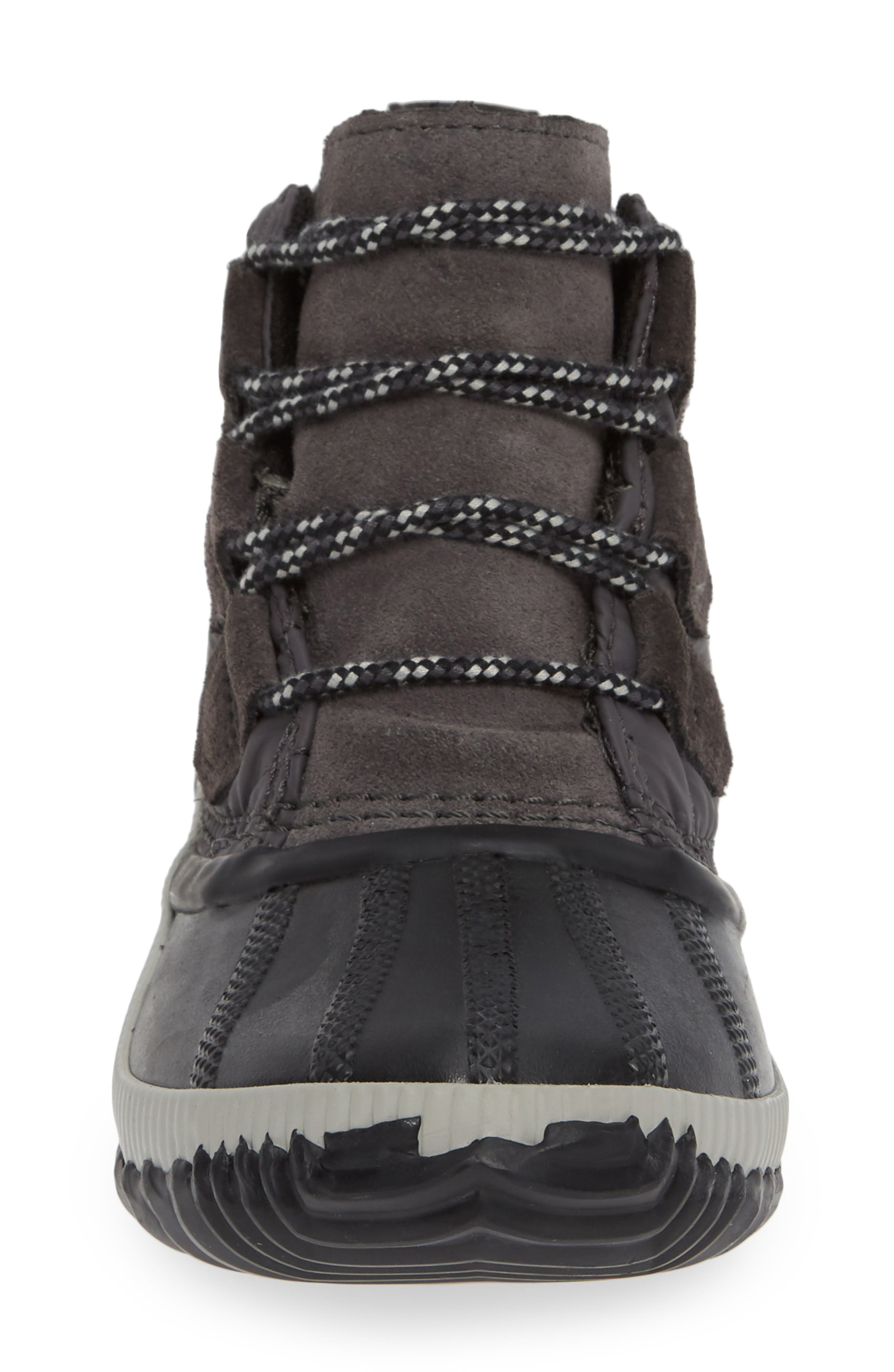 Out N About Plus Camp Waterproof Bootie,                             Alternate thumbnail 4, color,                             SLATE GREY/ BLACK