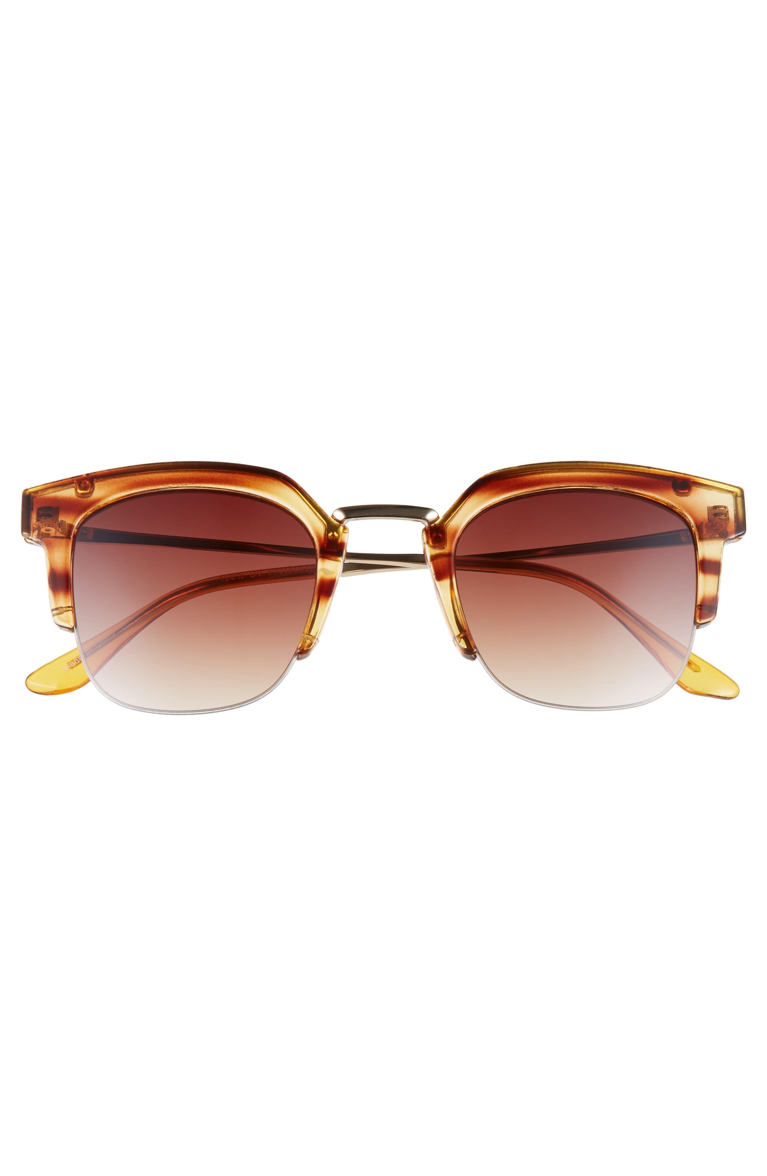 47mm Retro Sunglasses,                             Alternate thumbnail 3, color,                             200