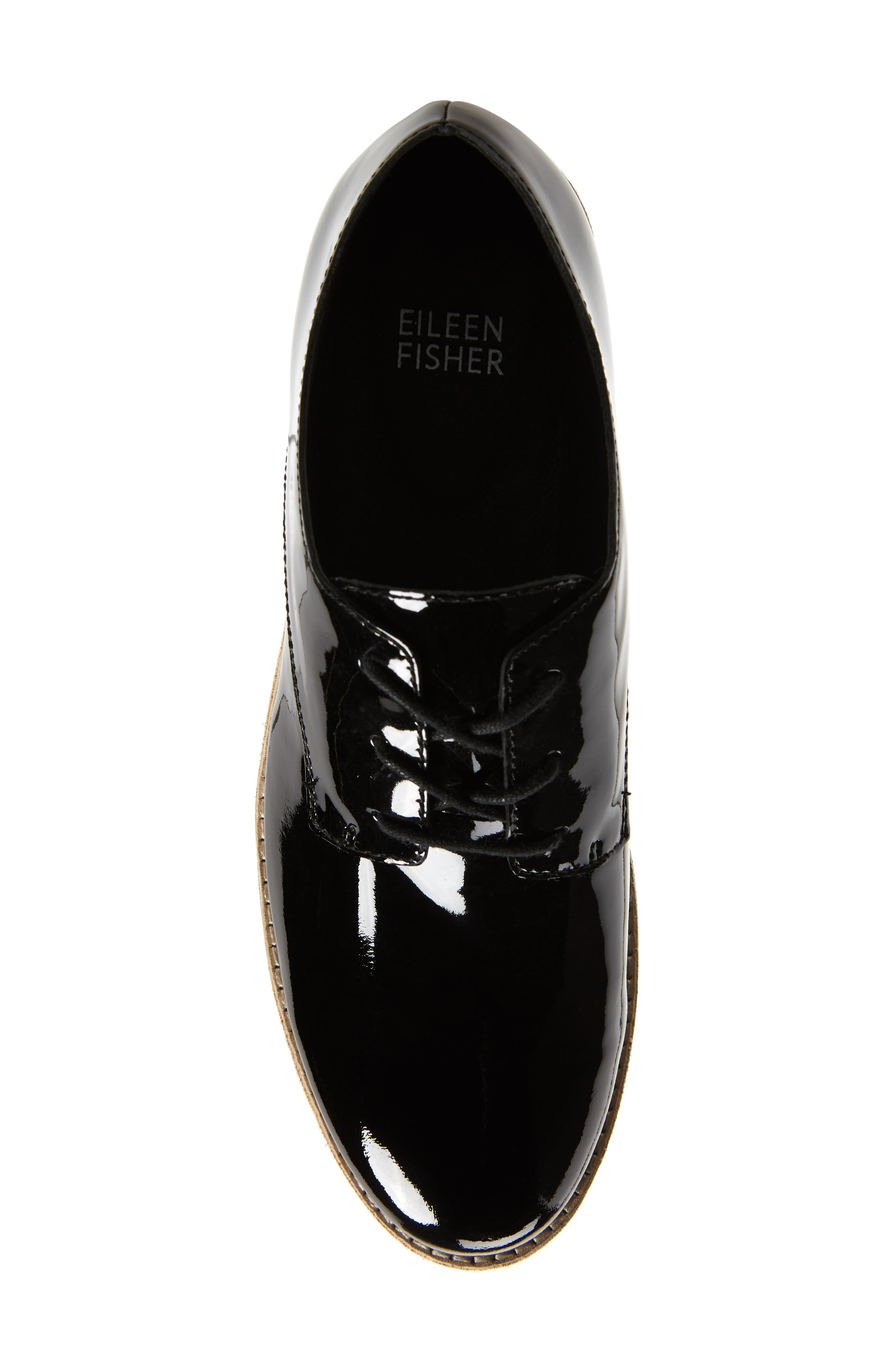 Eddy Derby,                             Alternate thumbnail 5, color,                             BLACK PATENT LEATHER