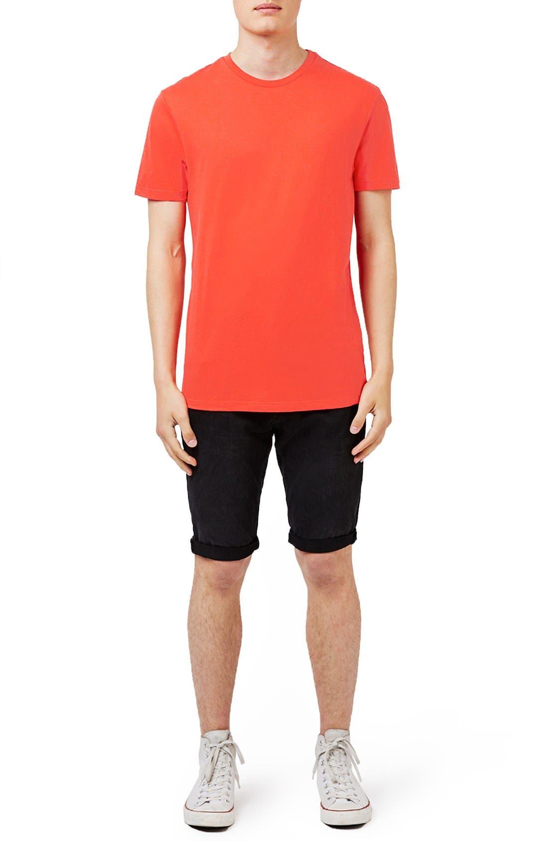 Slim Fit Crewneck T-Shirt,                             Alternate thumbnail 273, color,
