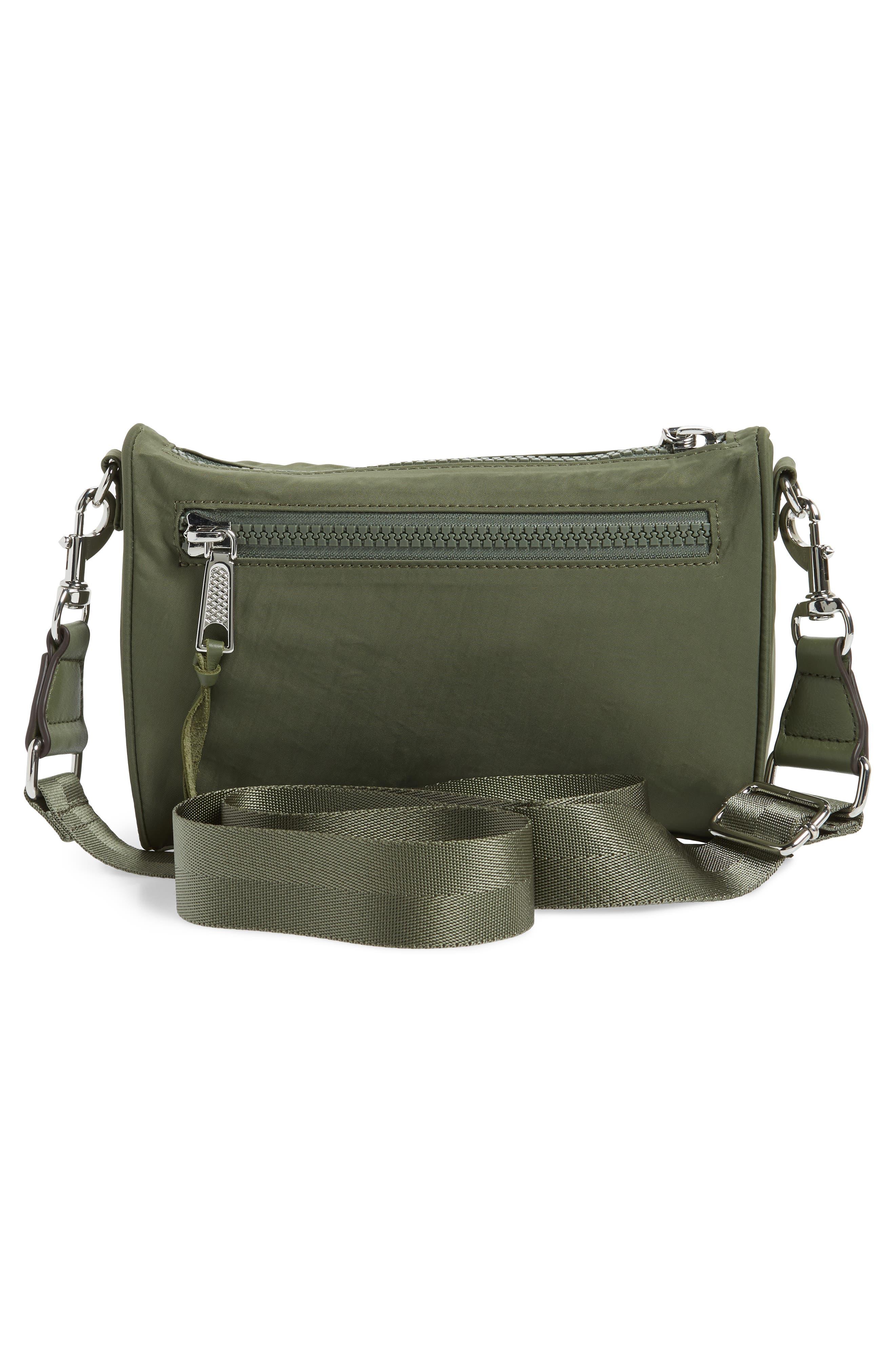 Mini Mac Convertible Crossbody Bag,                             Alternate thumbnail 3, color,                             OLIVE