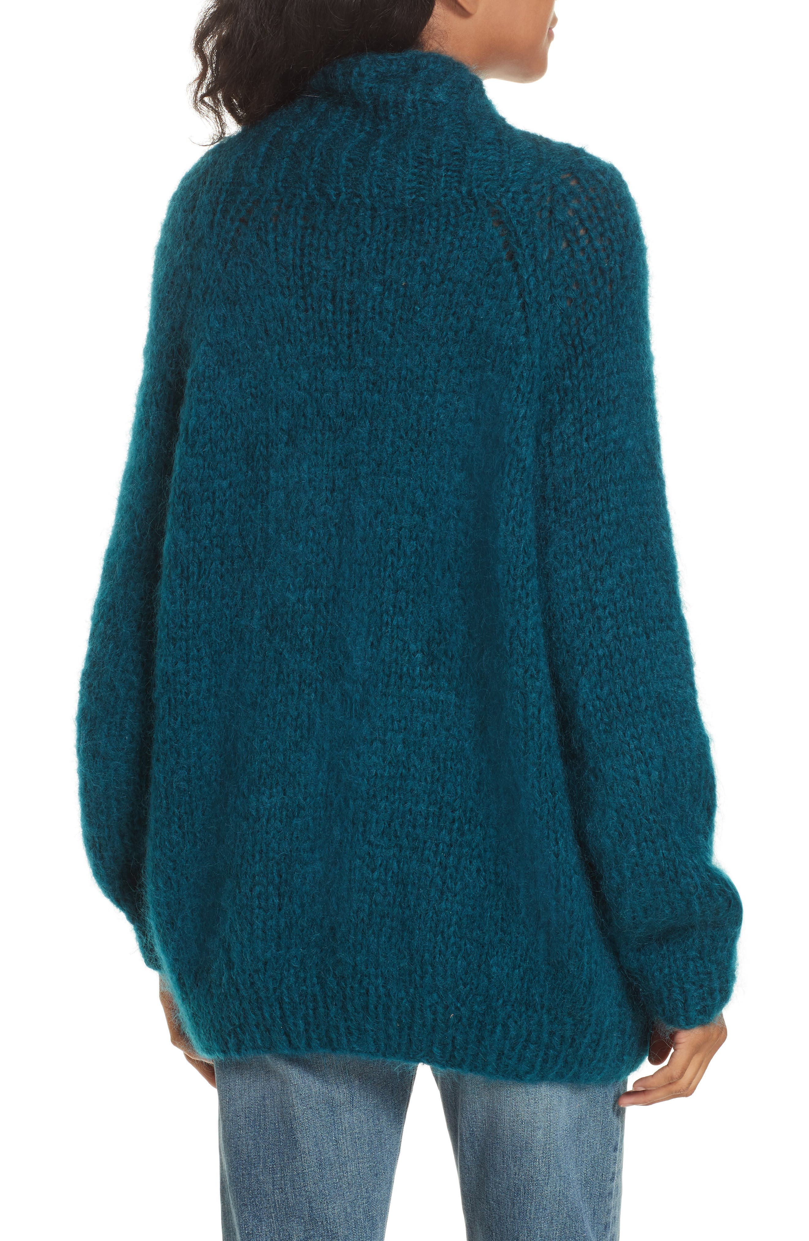 Knitted Cardigan,                             Alternate thumbnail 2, color,                             440
