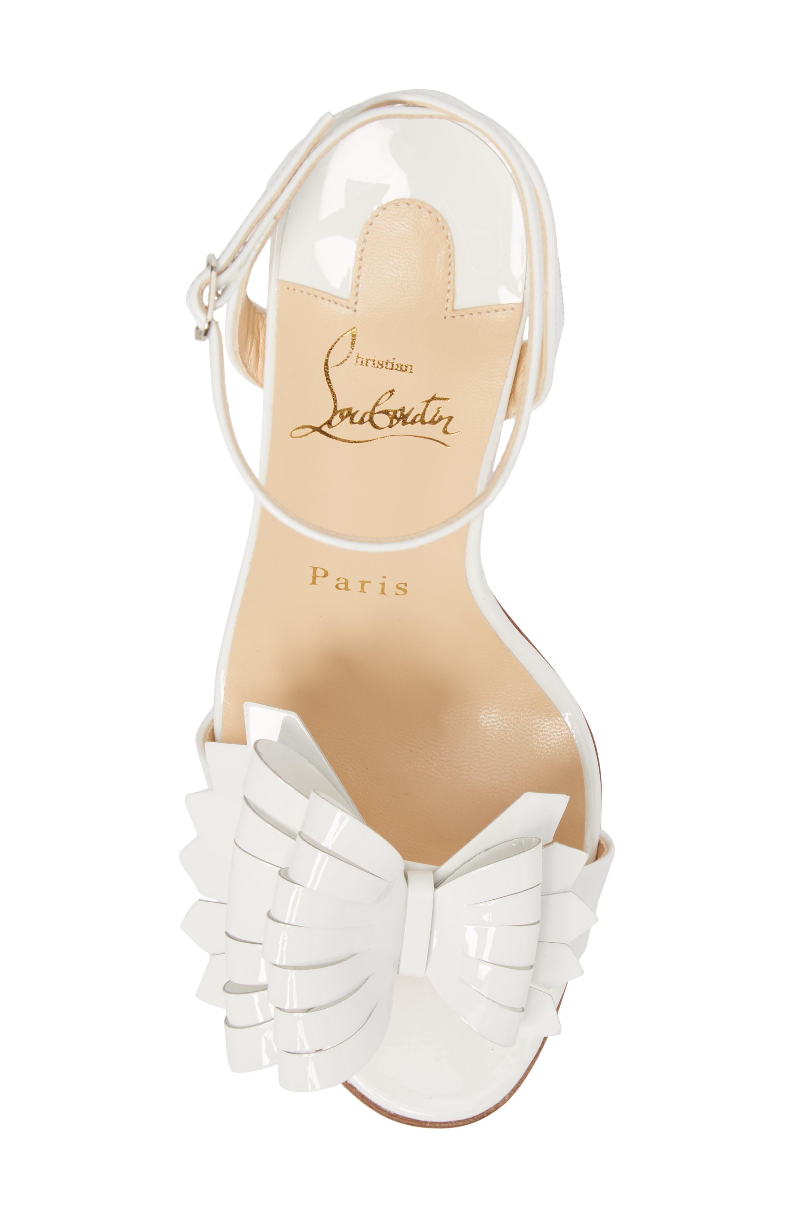Miss Valois Bow Ankle Strap Sandal,                             Alternate thumbnail 10, color,