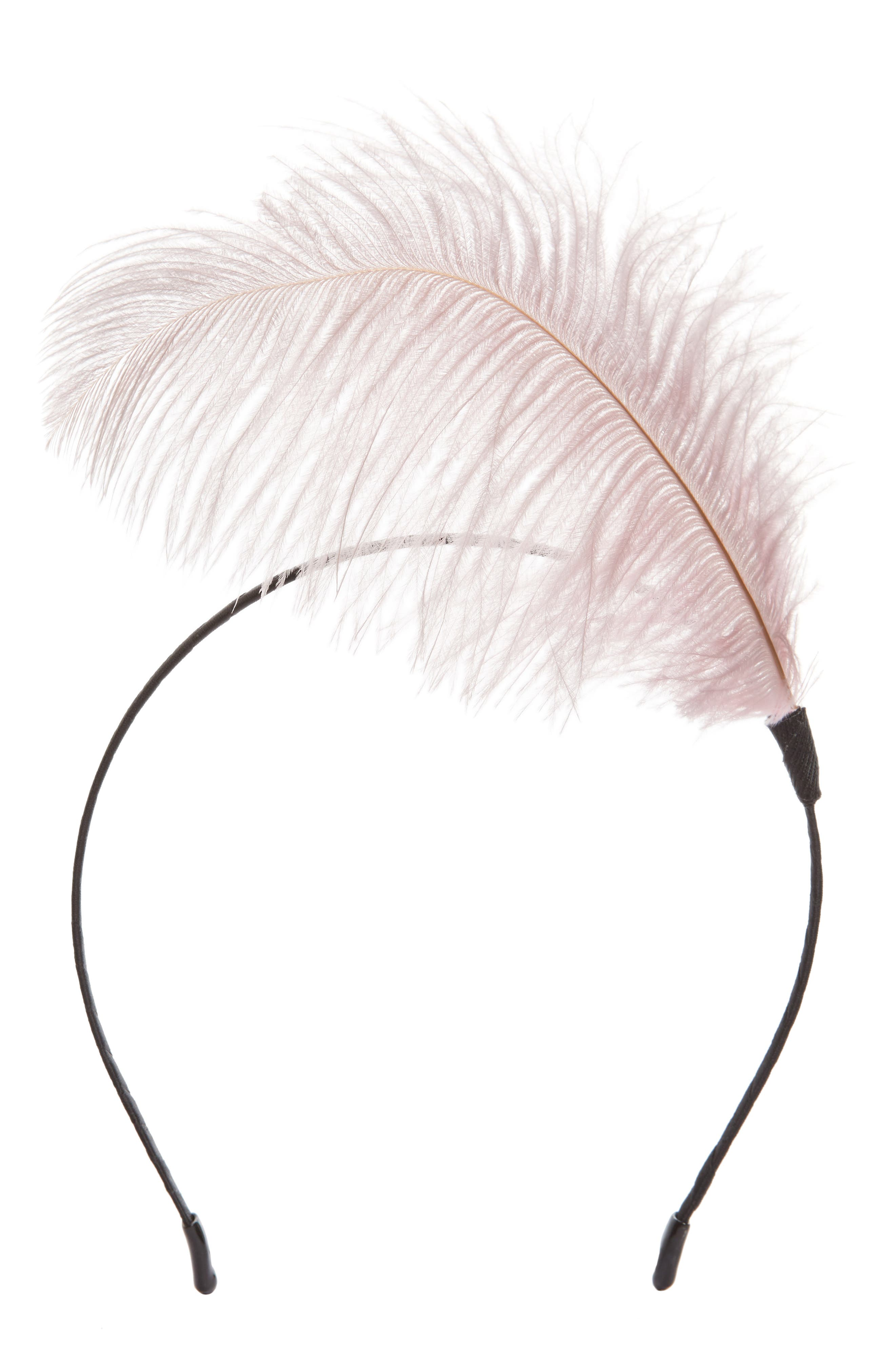 Feather Headband,                             Main thumbnail 2, color,