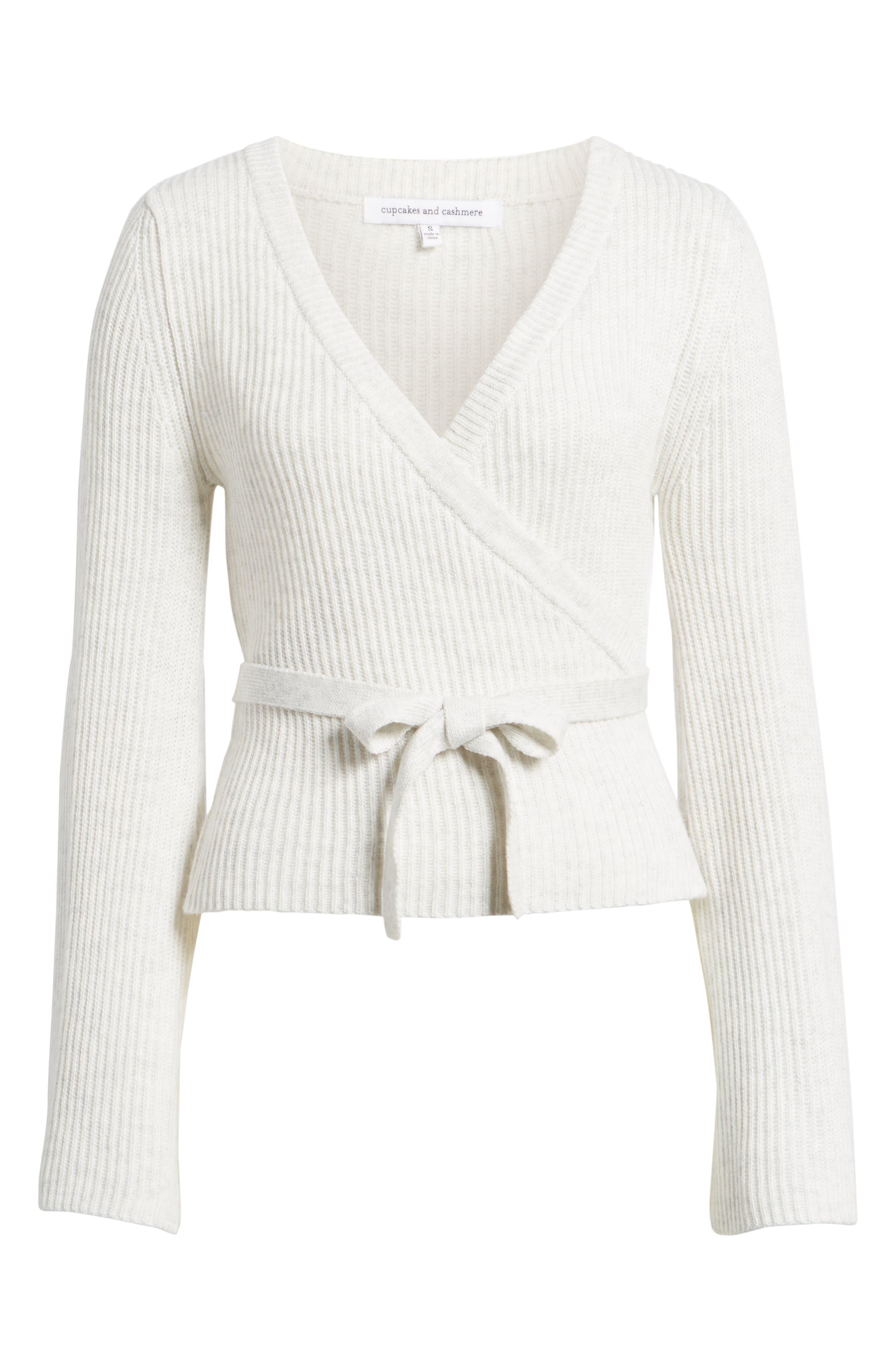 Chavi Tie Waist Sweater,                             Alternate thumbnail 6, color,                             050
