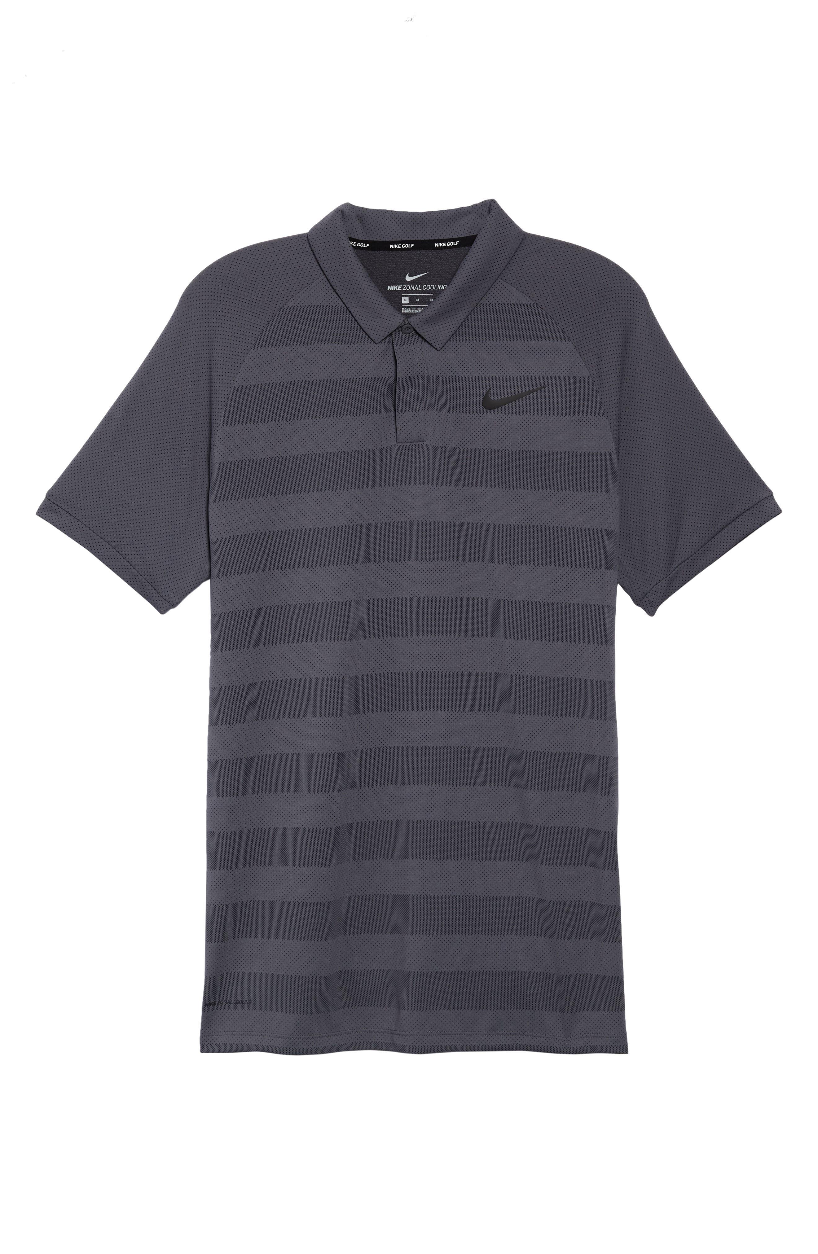 Stripe Polo Shirt,                             Alternate thumbnail 6, color,                             021
