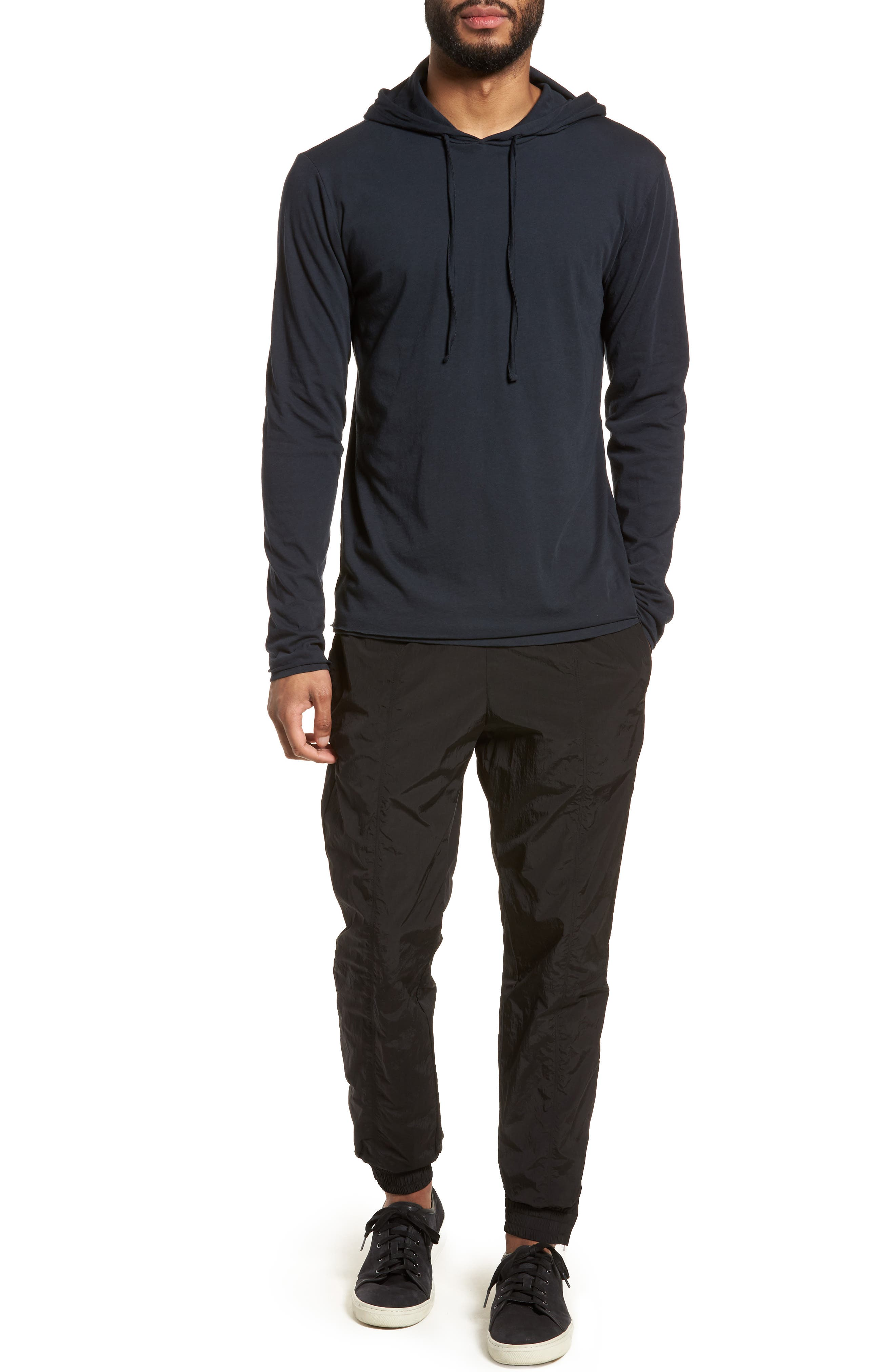 Layered Long Sleeve Pullover Hoodie,                             Alternate thumbnail 21, color,