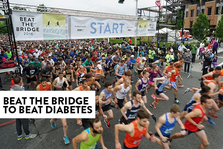 Beat the Bridge to Beat Diabetes.