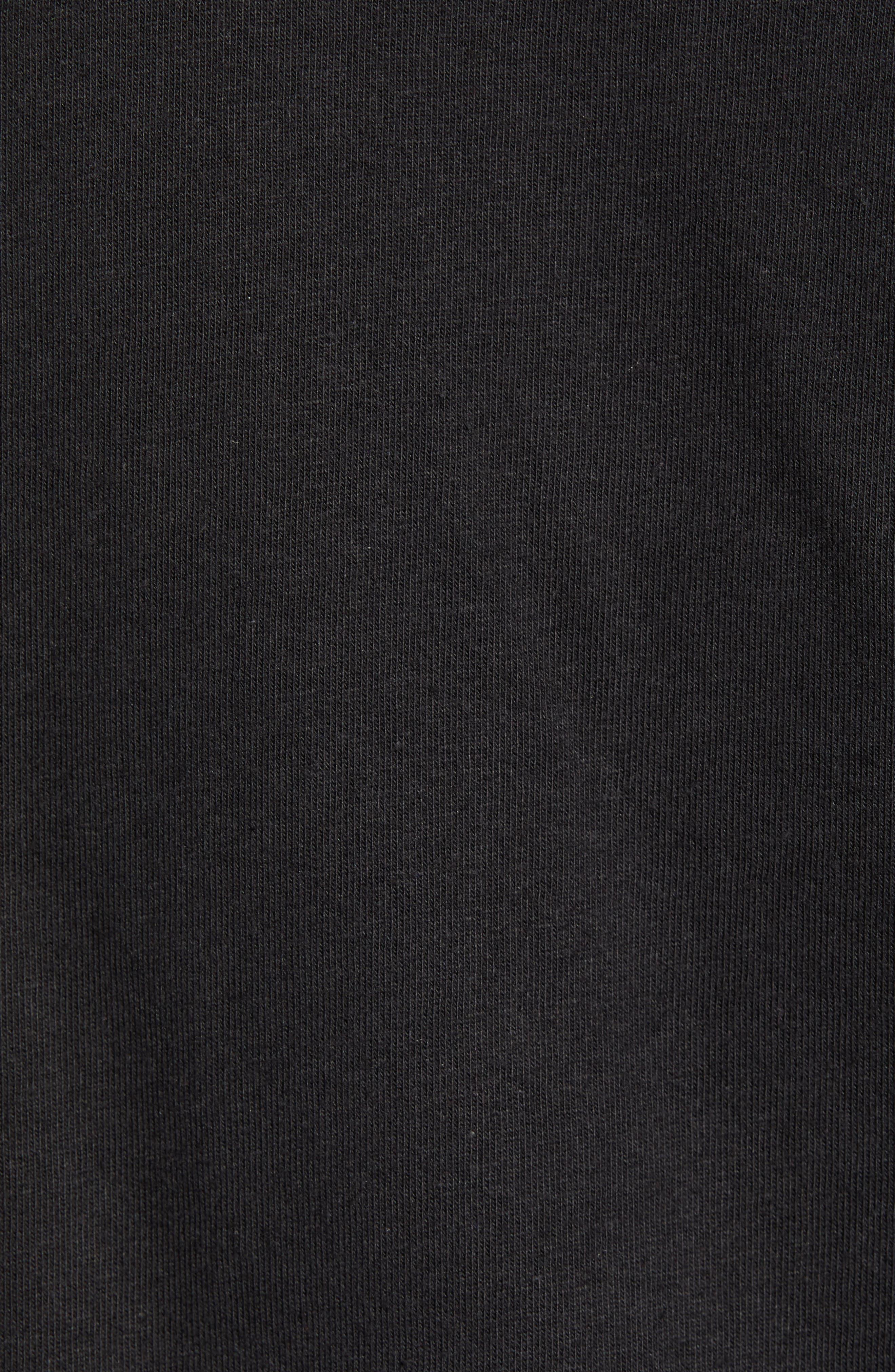 1992 Rage Collection T-Shirt,                             Alternate thumbnail 5, color,                             TNF BLACK