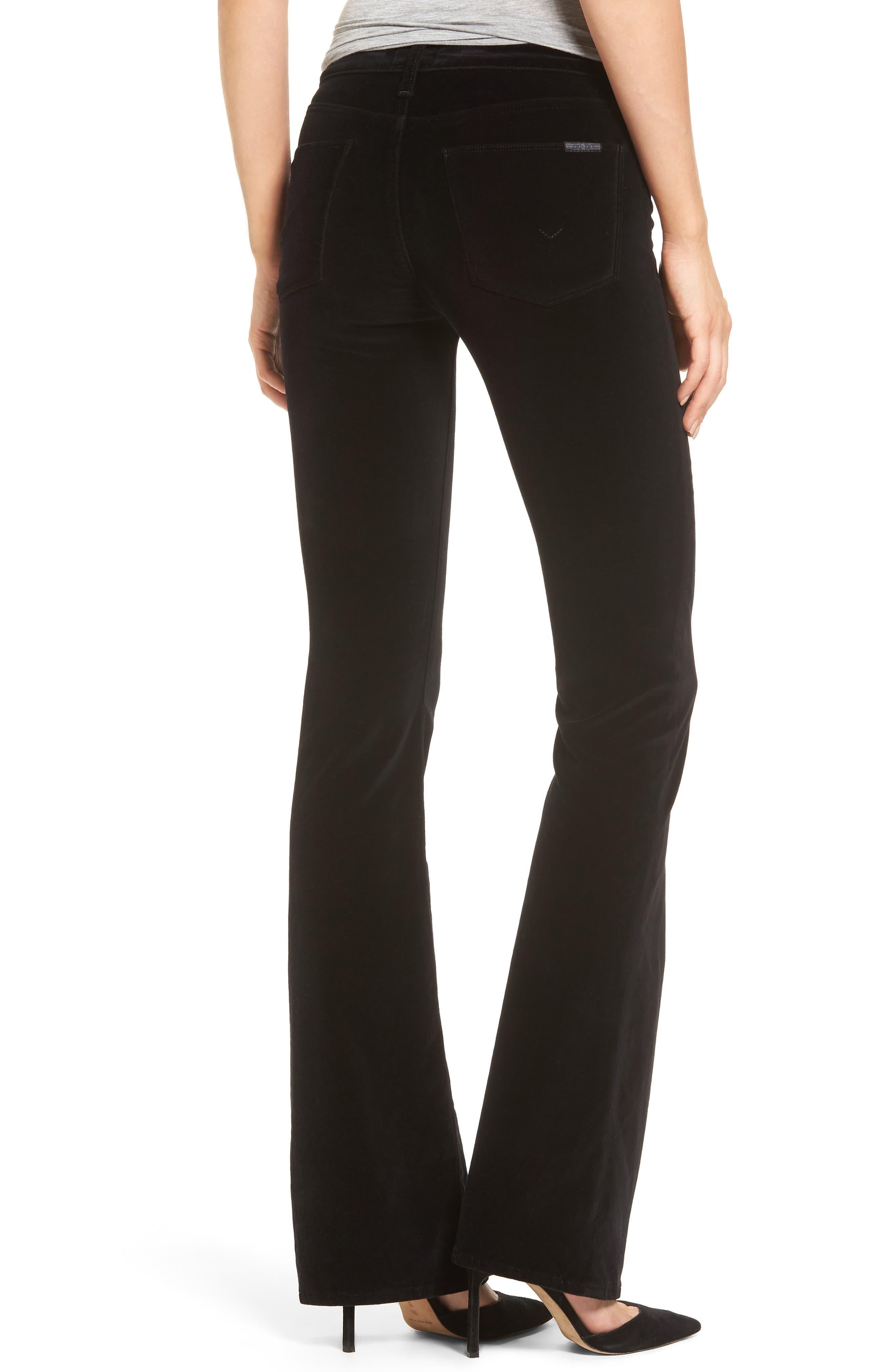 Drew Bootcut Velvet Jeans,                             Alternate thumbnail 2, color,                             001