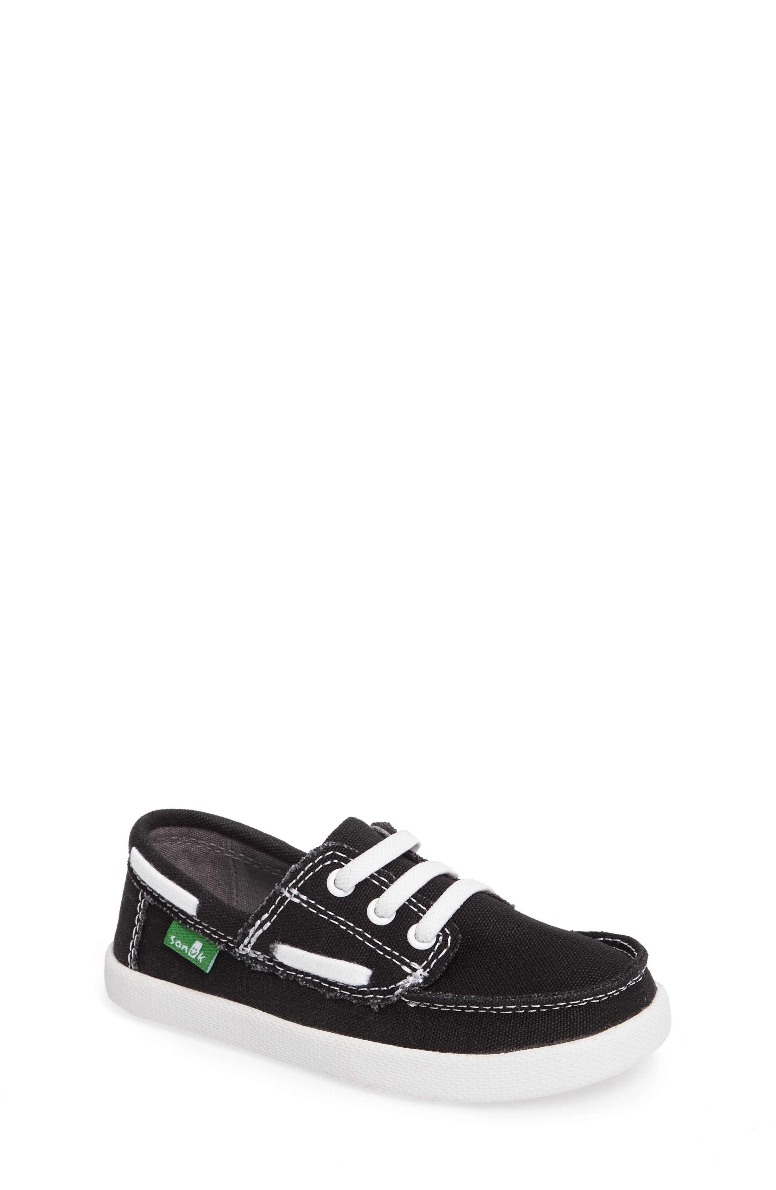 Lil Deck Hand Slip-On Sneaker,                             Main thumbnail 1, color,                             001
