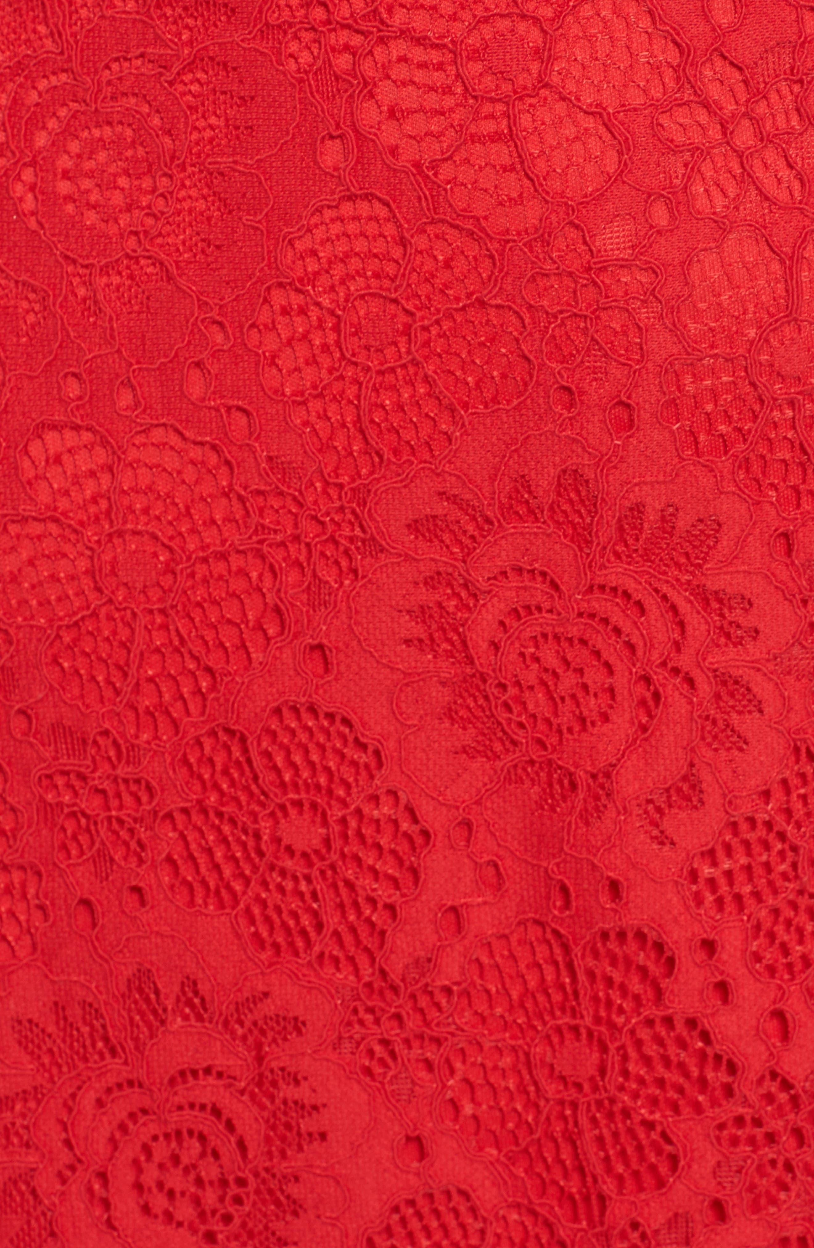 L'Amour Ruffle Halter Dress,                             Alternate thumbnail 5, color,                             600