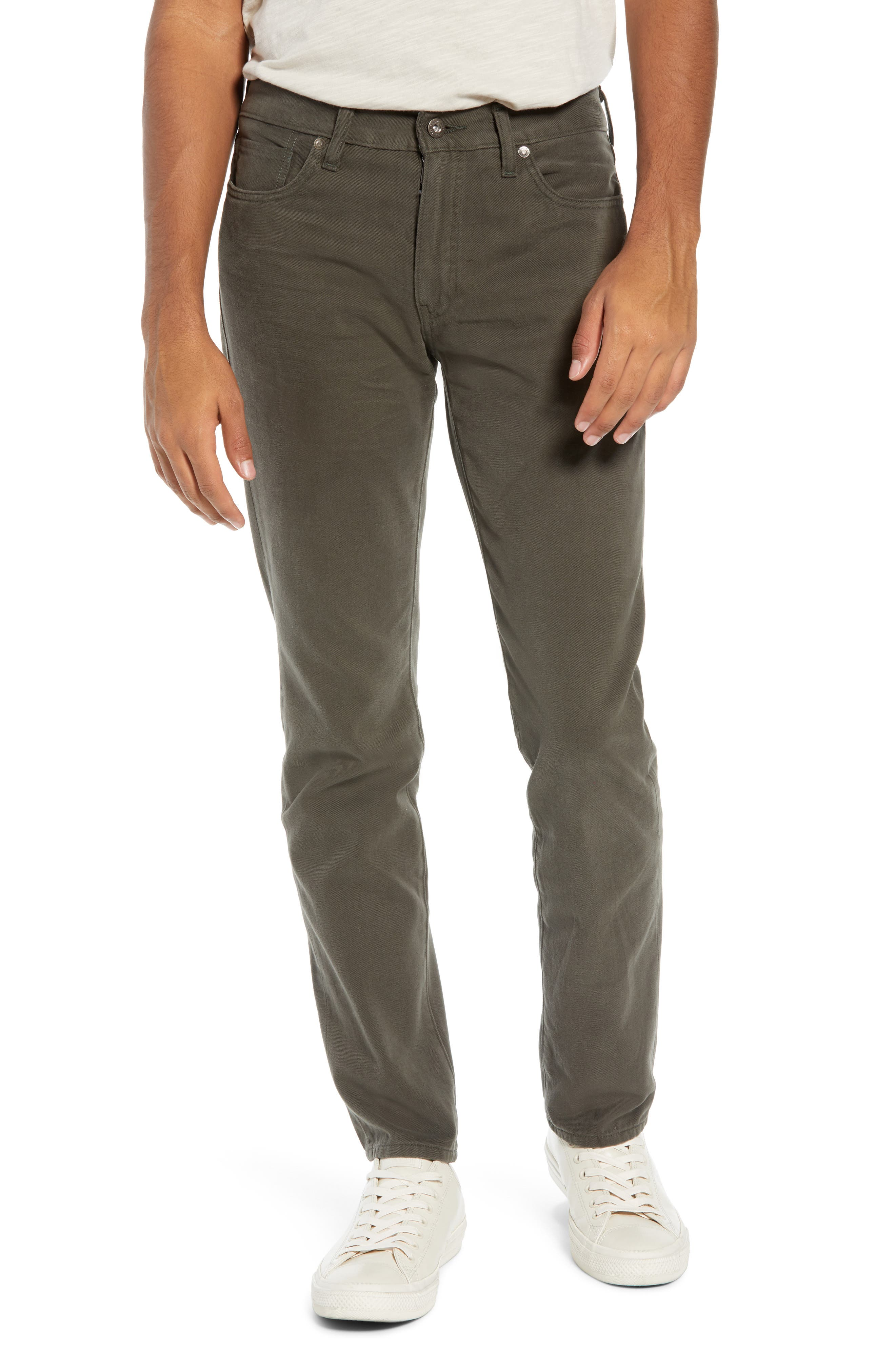 Levi's<sup>®</sup> Made & Crafted 511<sup>™</sup> Slim Fit Jeans,                             Main thumbnail 1, color,                             FERN