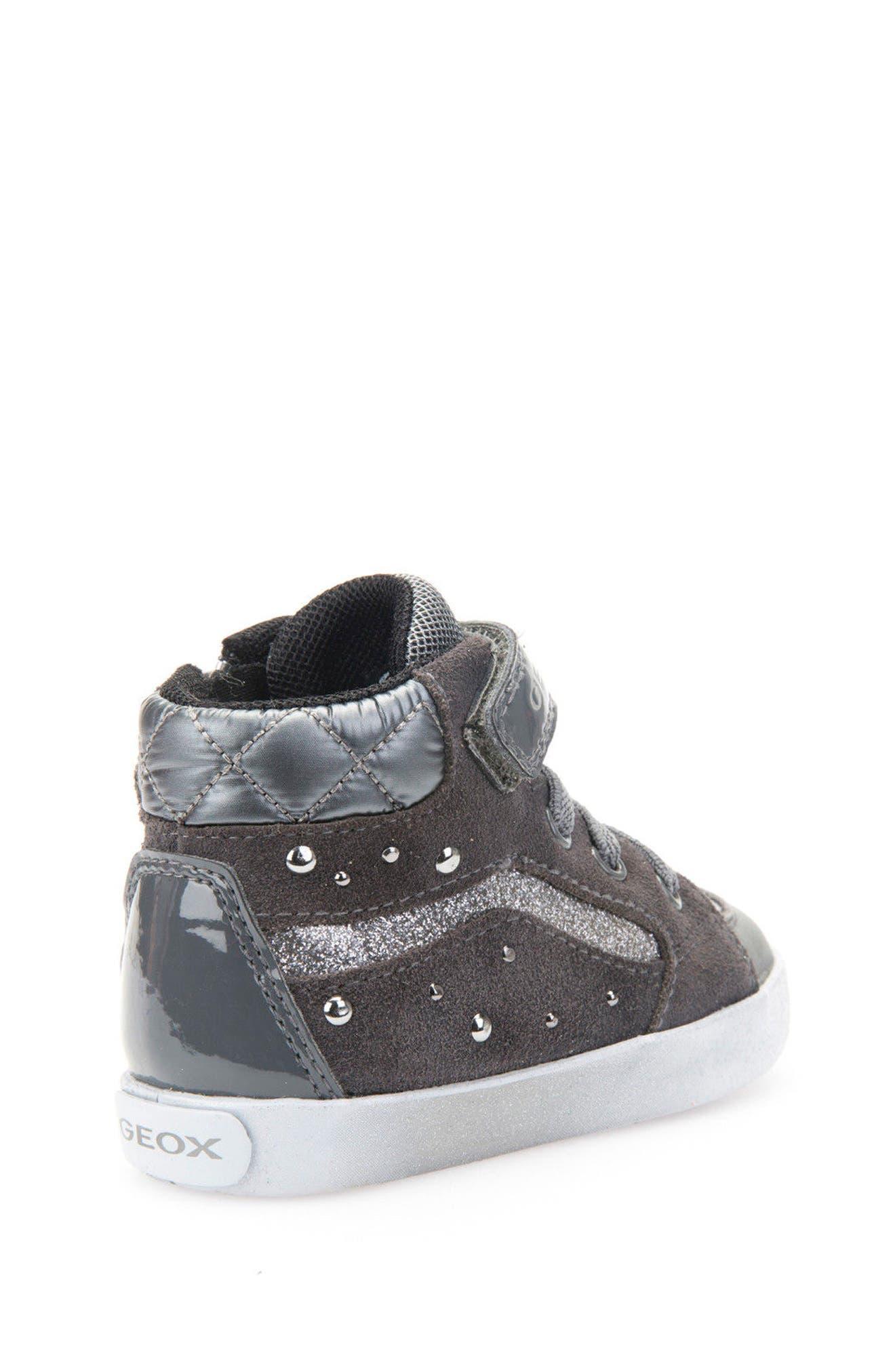 Kiwi Studded High Top Sneaker,                             Alternate thumbnail 7, color,                             020