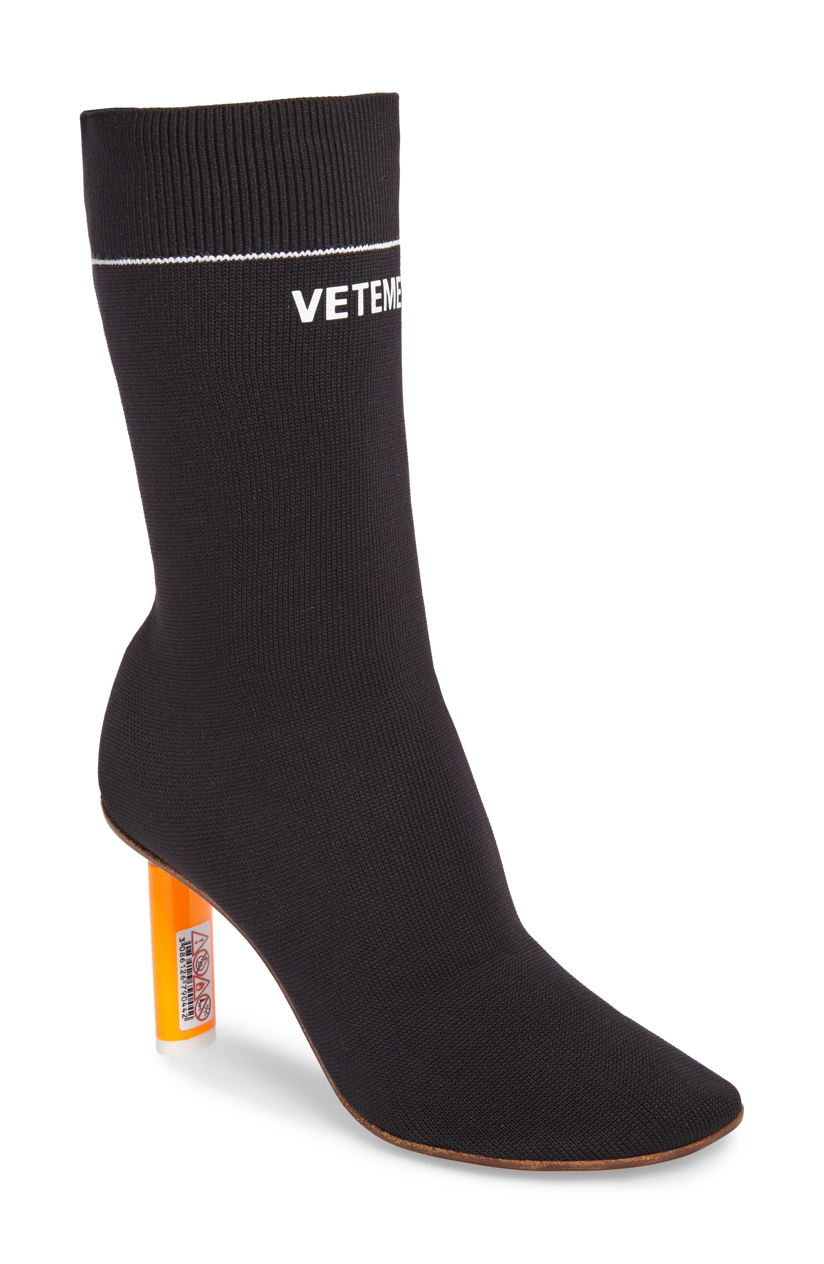 Sock Boot,                             Main thumbnail 1, color,                             001