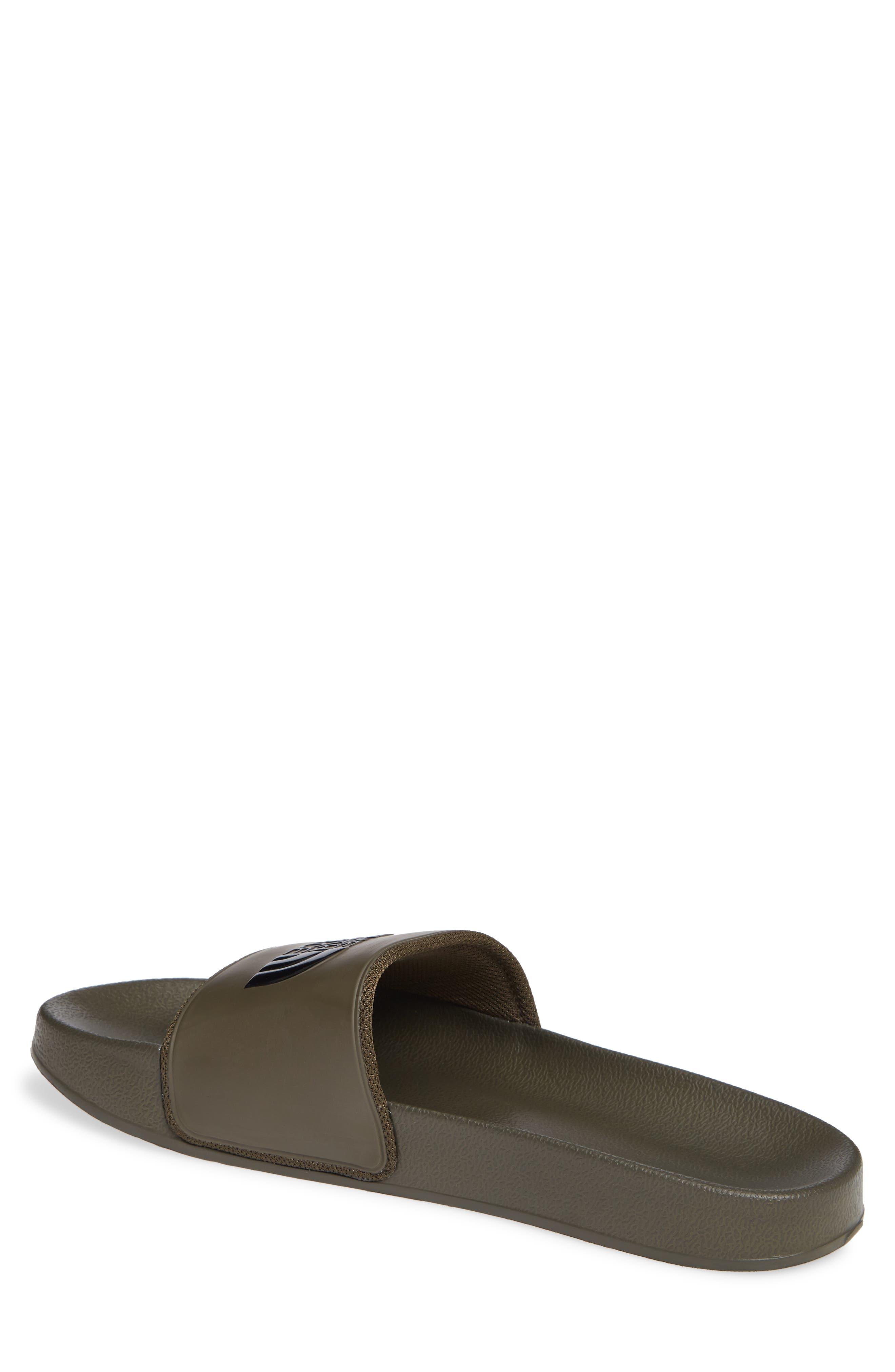 Base Camp II Slide Sandal,                             Alternate thumbnail 2, color,                             TARMAC GREEN/ BLACK