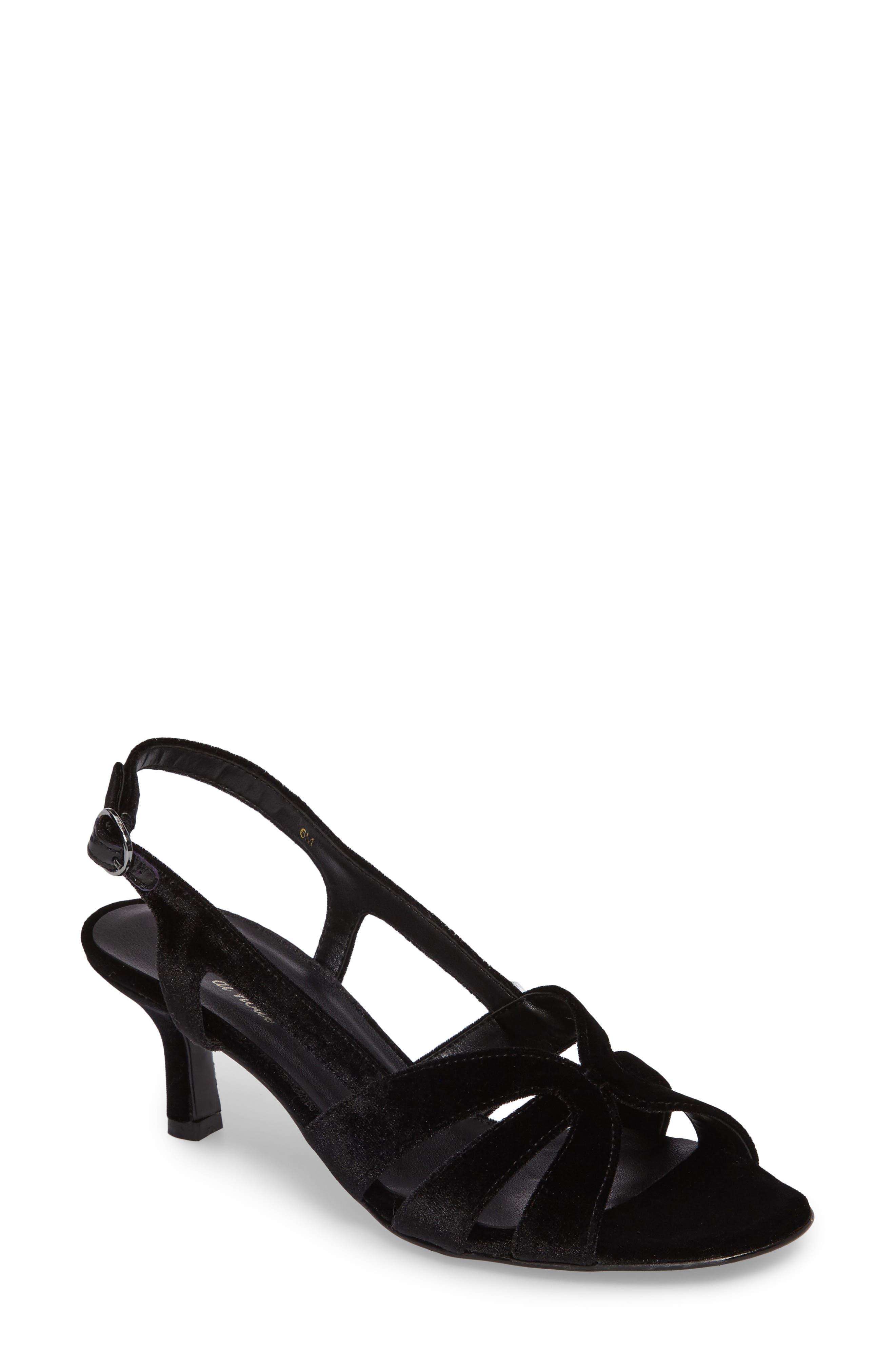 Maeve Slingback Sandal,                         Main,                         color, 001