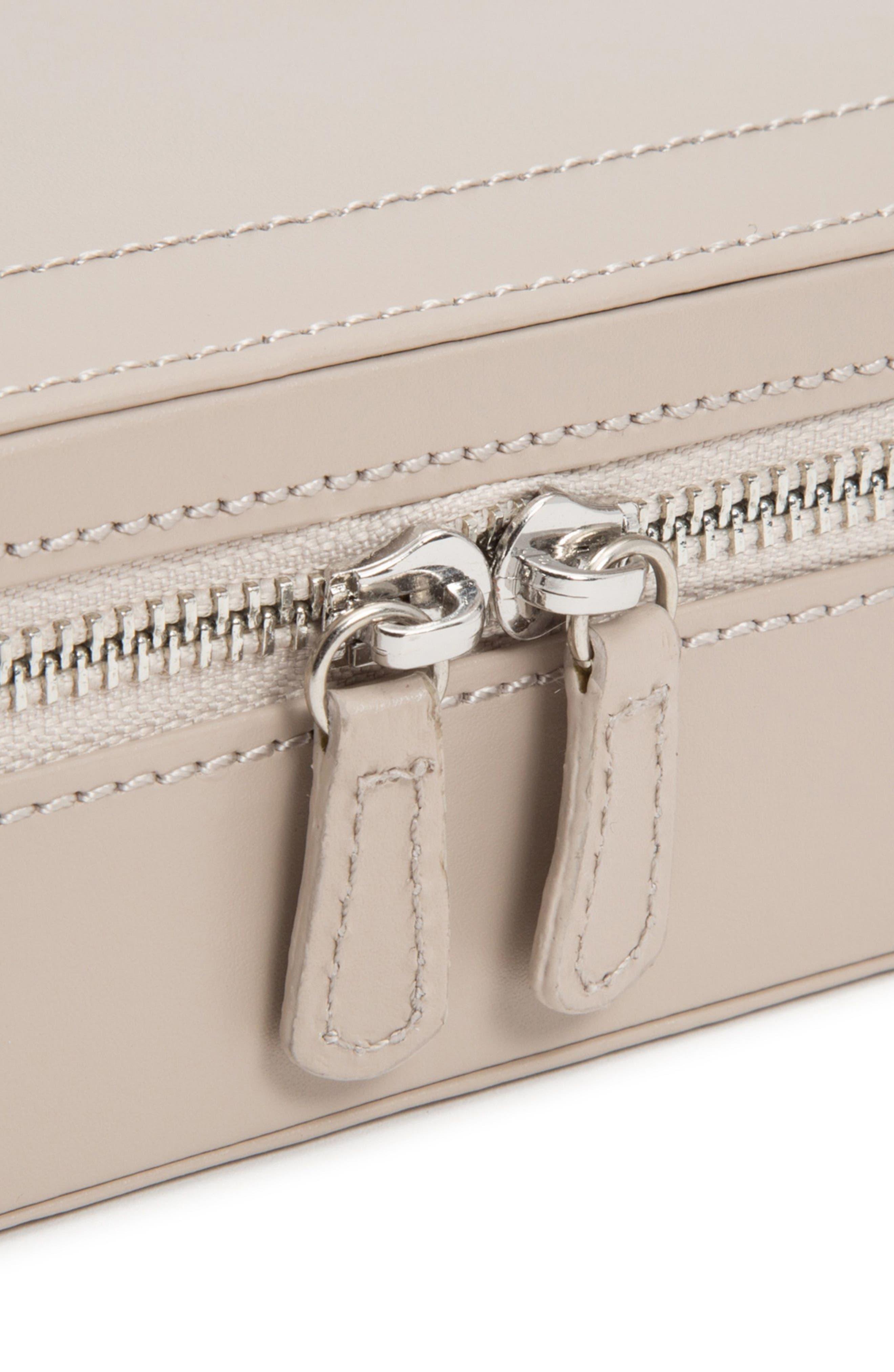 Sophia Rectangle Zip Case,                             Alternate thumbnail 3, color,                             MINK