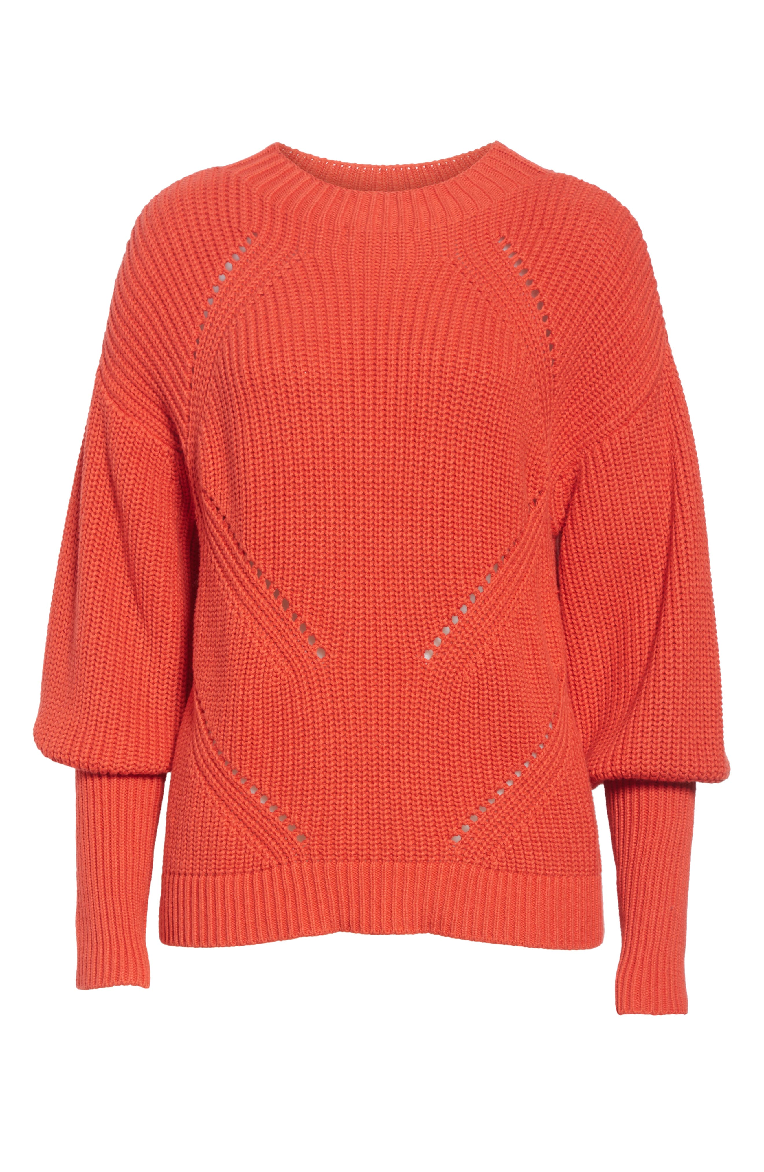 Landyn Blouson Sleeve Sweater,                             Alternate thumbnail 6, color,                             600