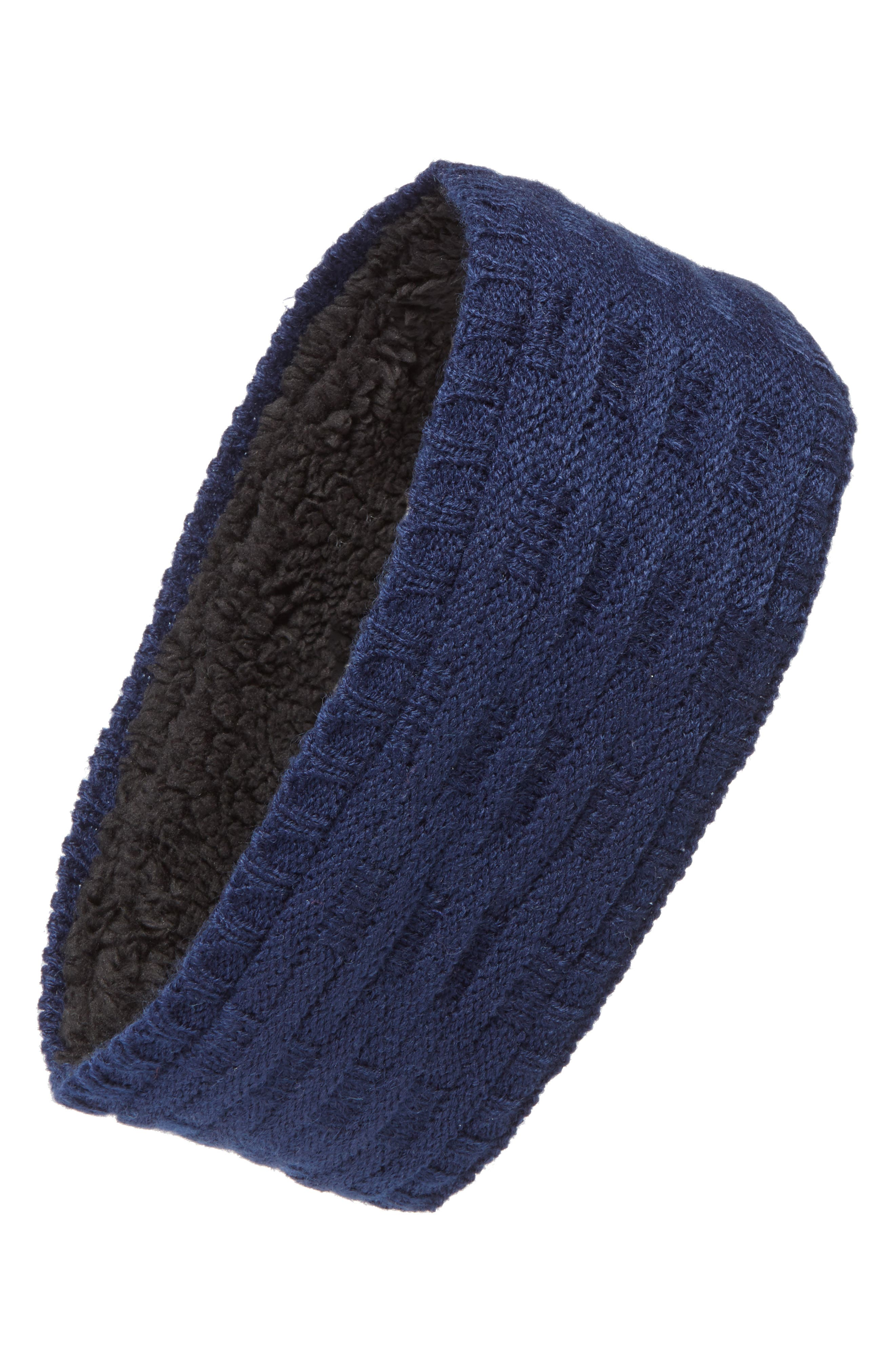 Cross Cable Knit Headband,                             Main thumbnail 6, color,