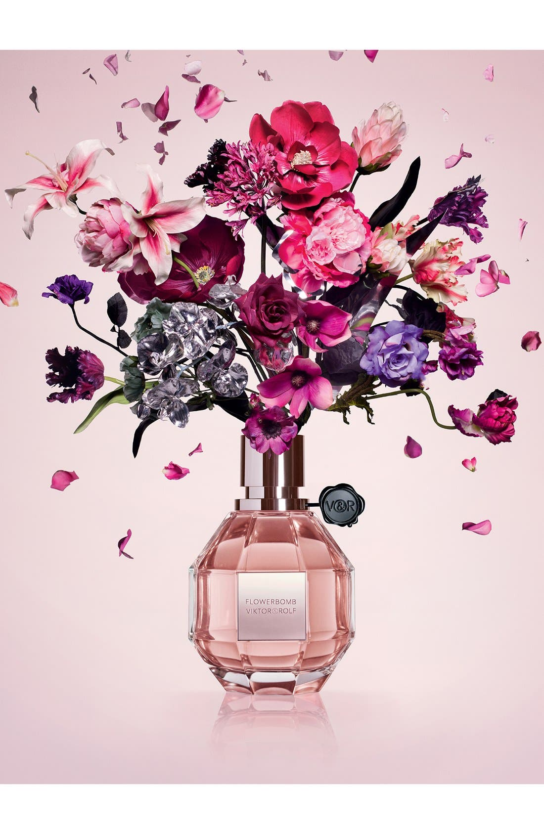 Flowerbomb Refillable Eau de Parfum Spray,                             Alternate thumbnail 4, color,                             NO COLOR