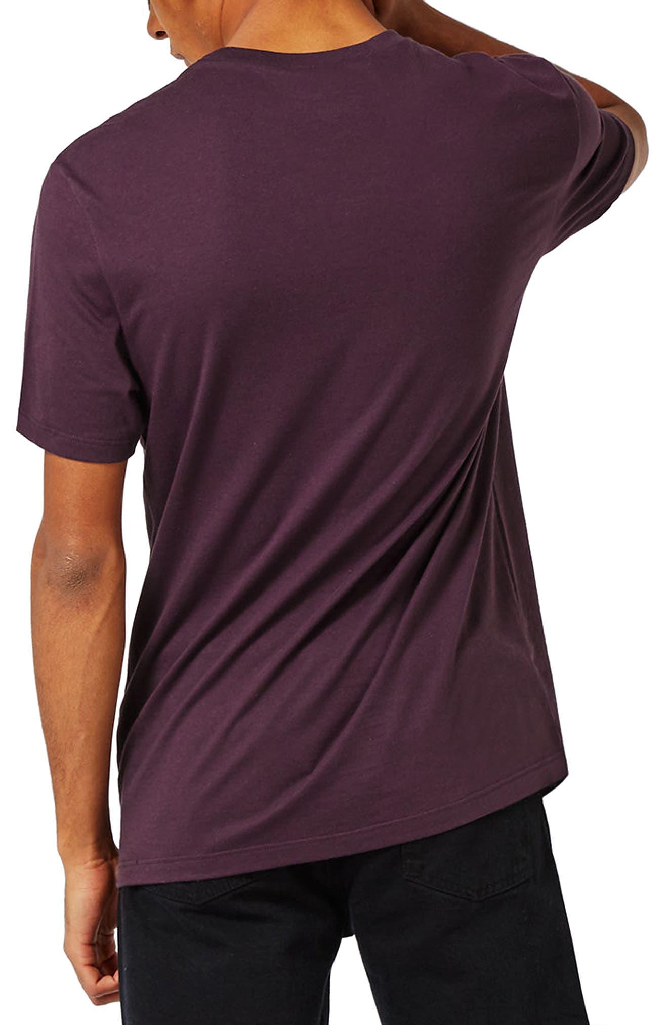 Slim Fit Crewneck T-Shirt,                             Alternate thumbnail 170, color,