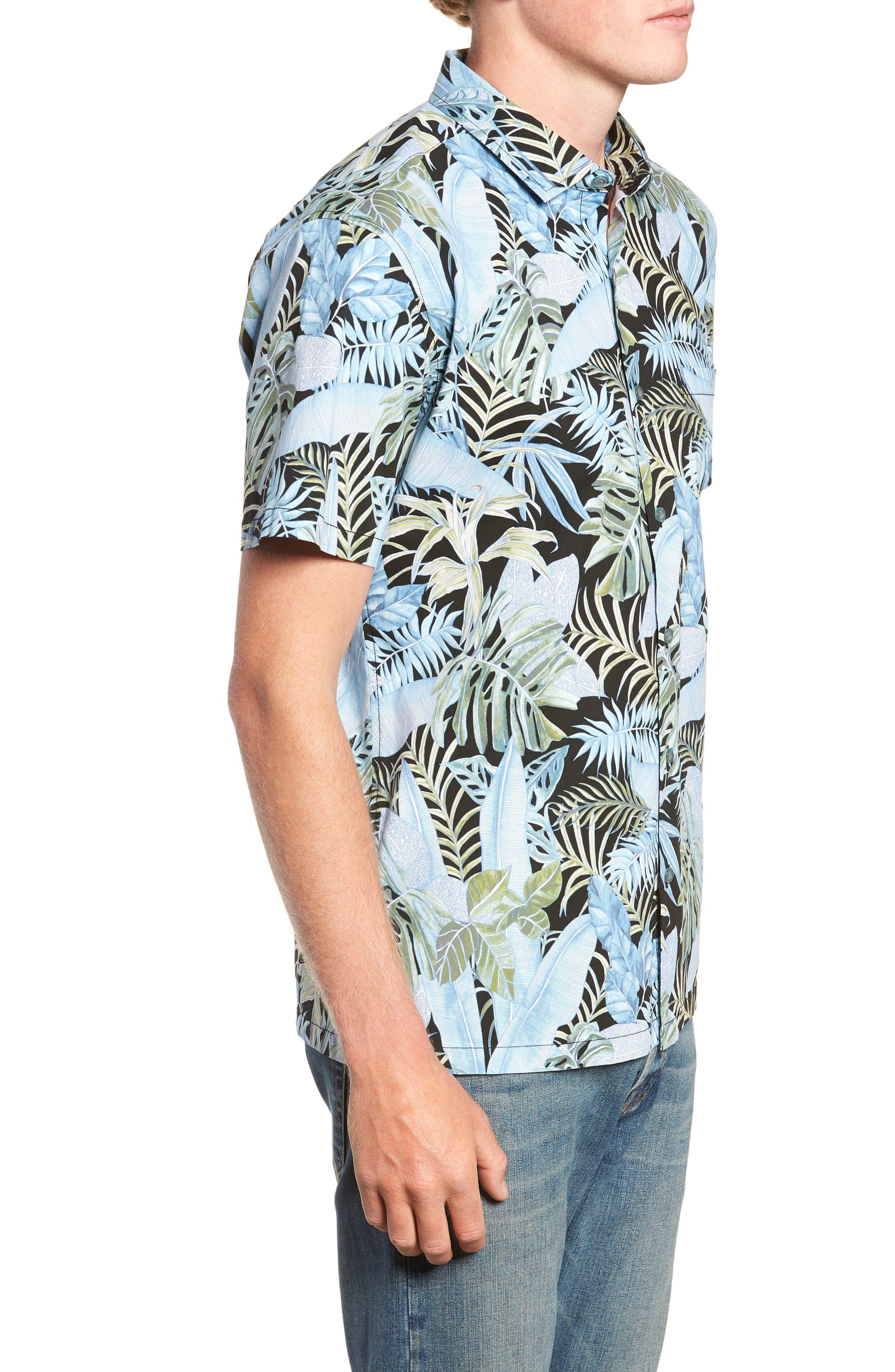 Sumatra Regular Fit Sport Shirt,                             Alternate thumbnail 4, color,                             001