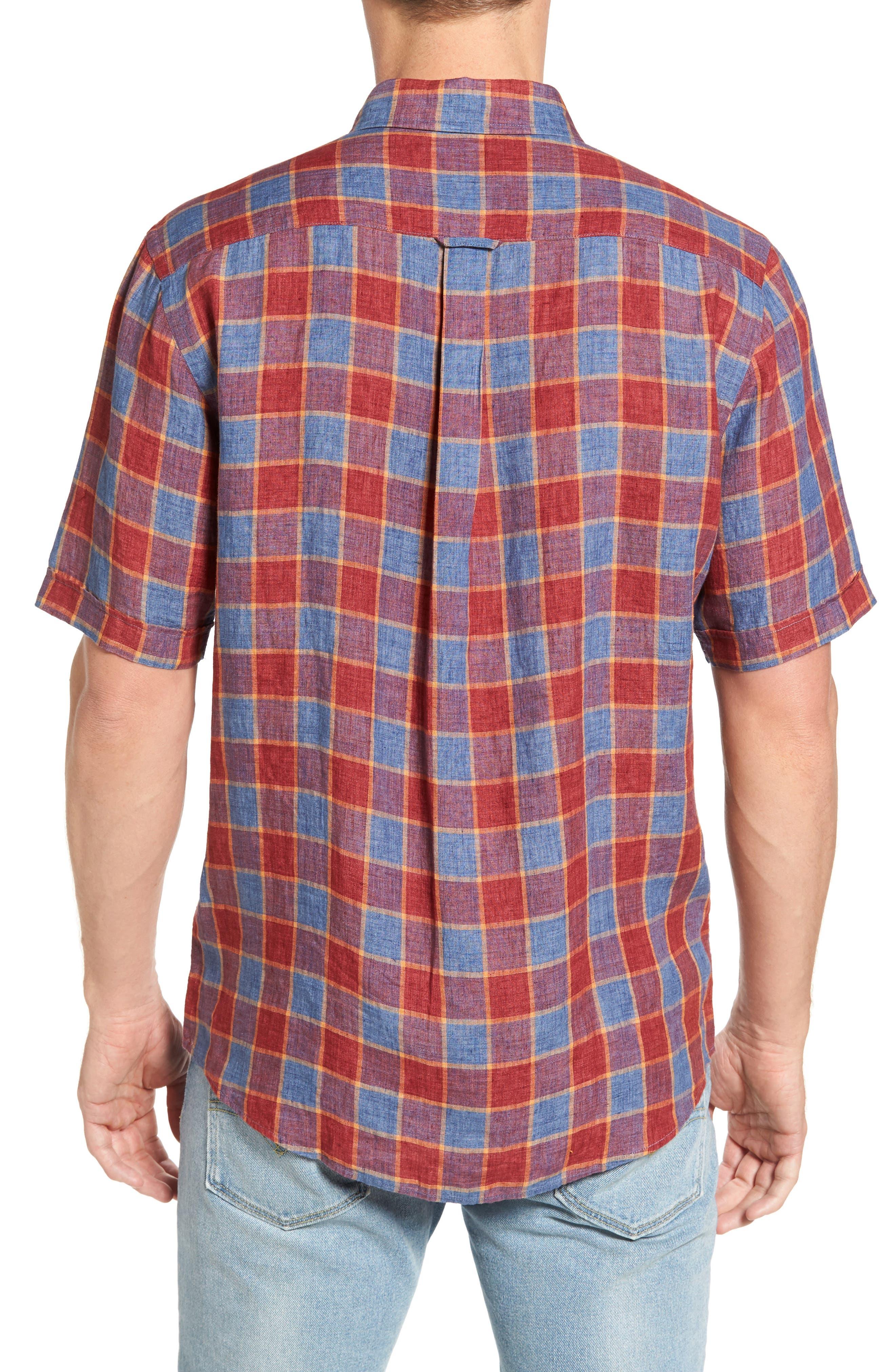 Mason Avenue Linen Sport Shirt,                             Alternate thumbnail 2, color,                             633