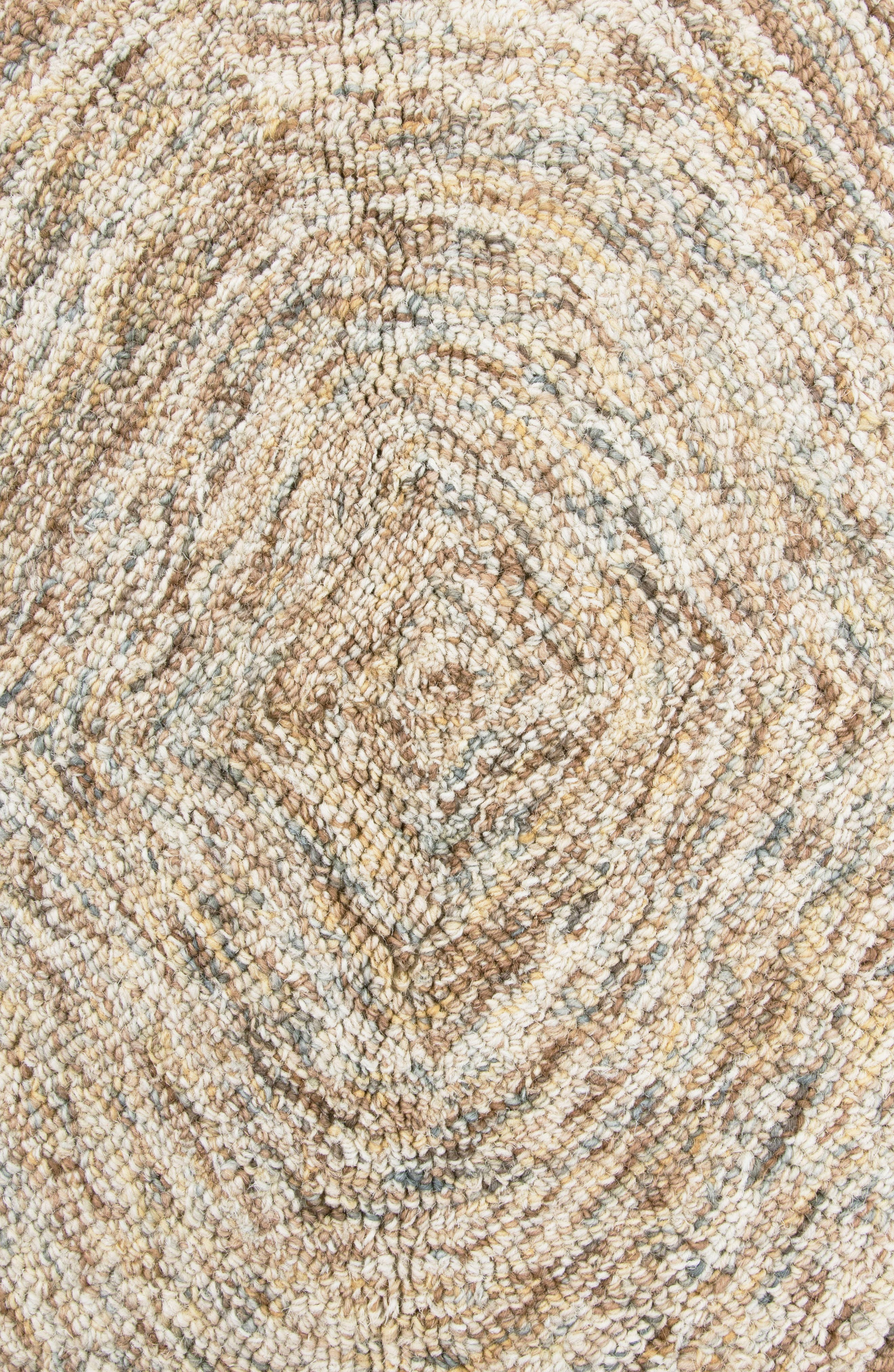Irregular Diamond Hand Tufted Wool Area Rug,                             Alternate thumbnail 2, color,                             200