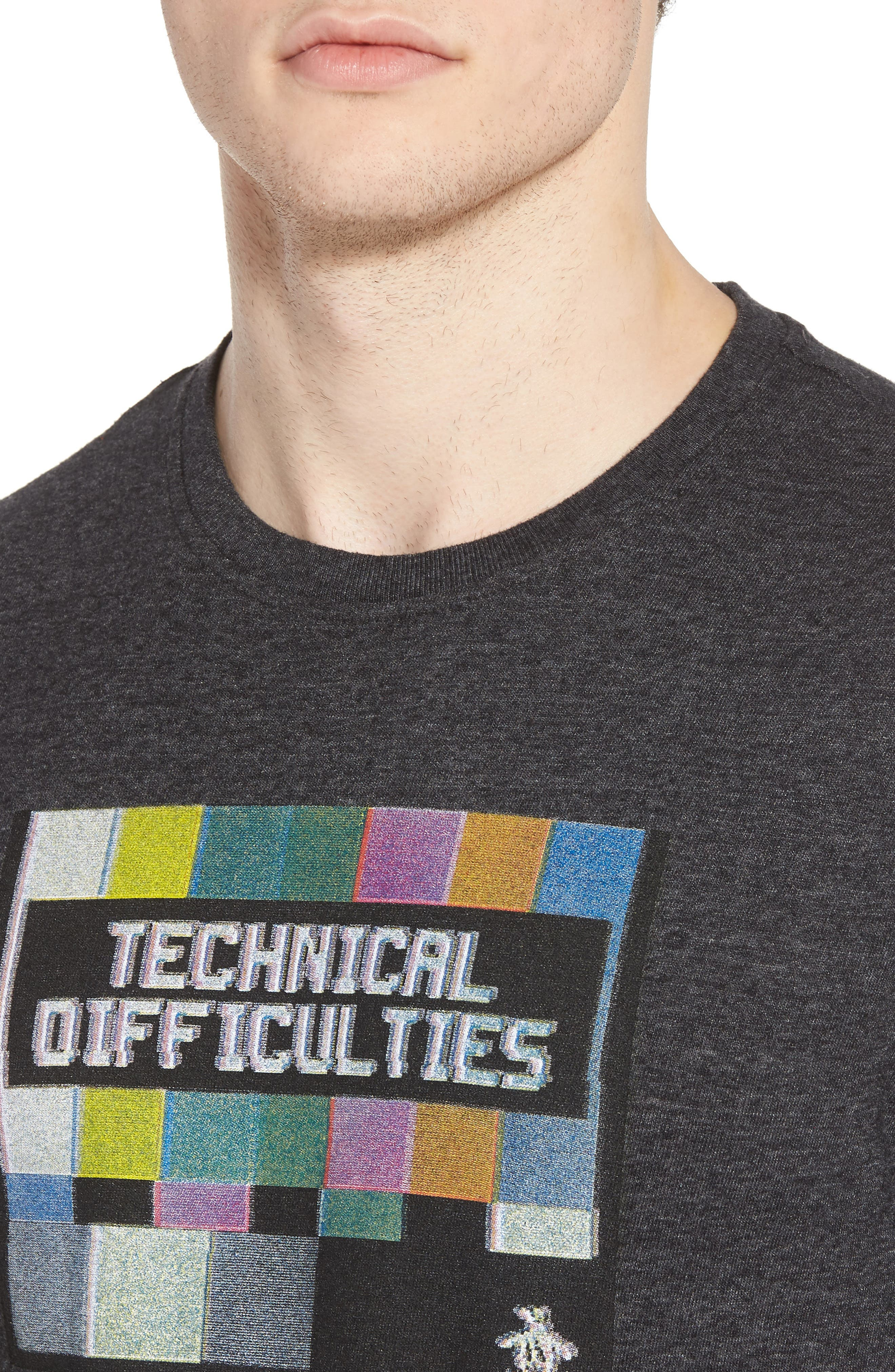 Technical Difficulties T-Shirt,                             Alternate thumbnail 4, color,                             020