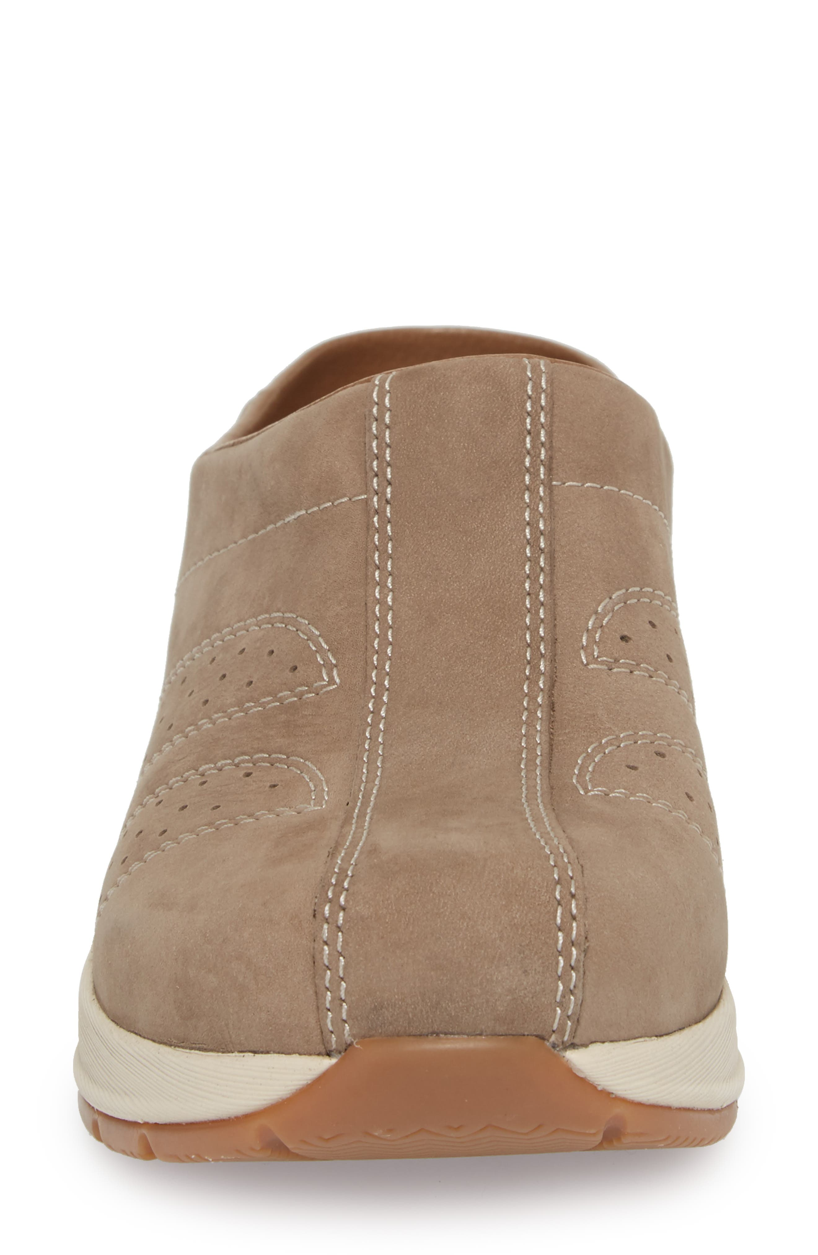 Dankso Shelly Mule,                             Alternate thumbnail 4, color,                             TAUPE MILLED NUBUCK LEATHER