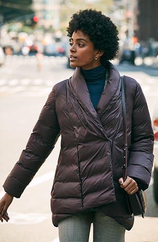 Women's coats on sale.