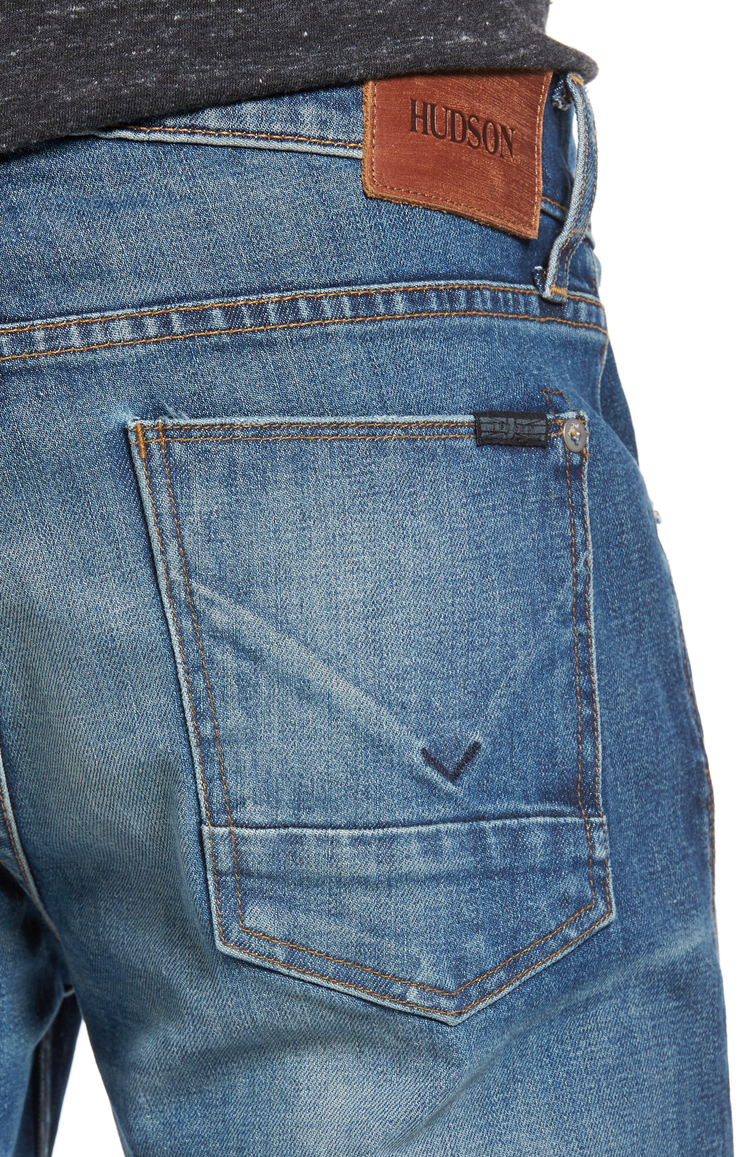 Blake Slim Fit Jeans,                             Alternate thumbnail 4, color,                             425