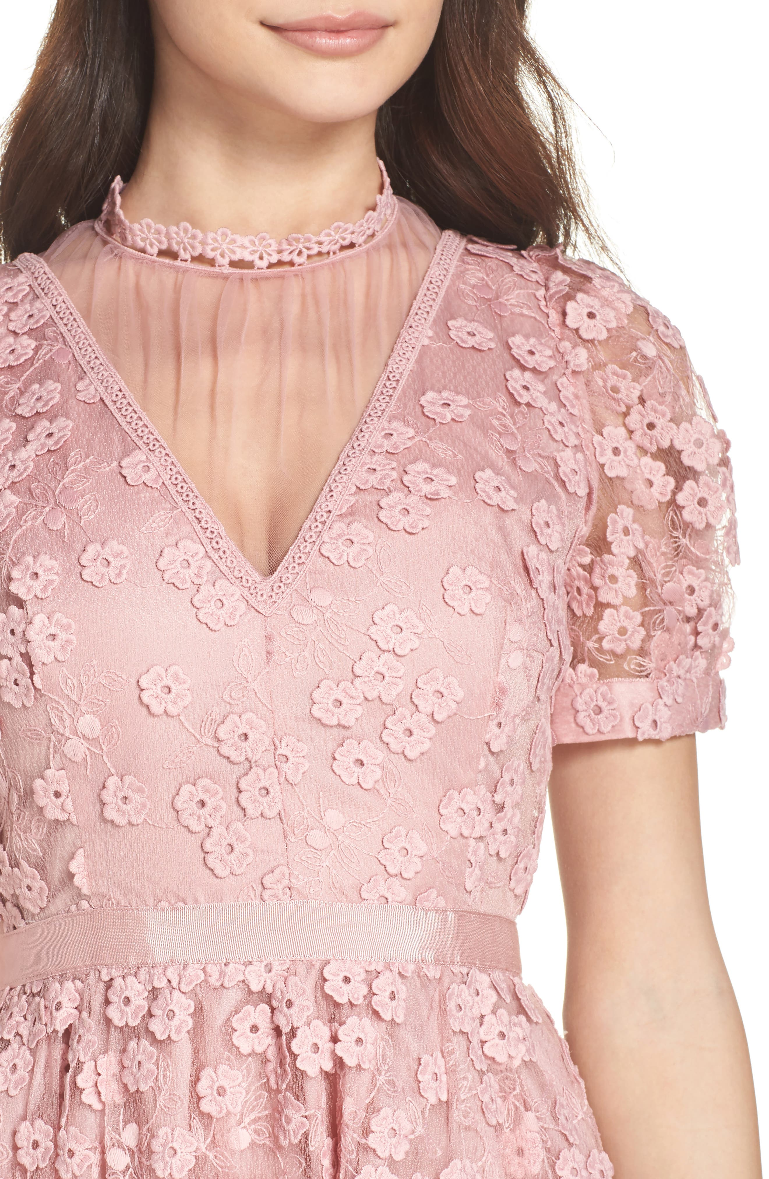 Caballo Lace Dress,                             Alternate thumbnail 4, color,                             655